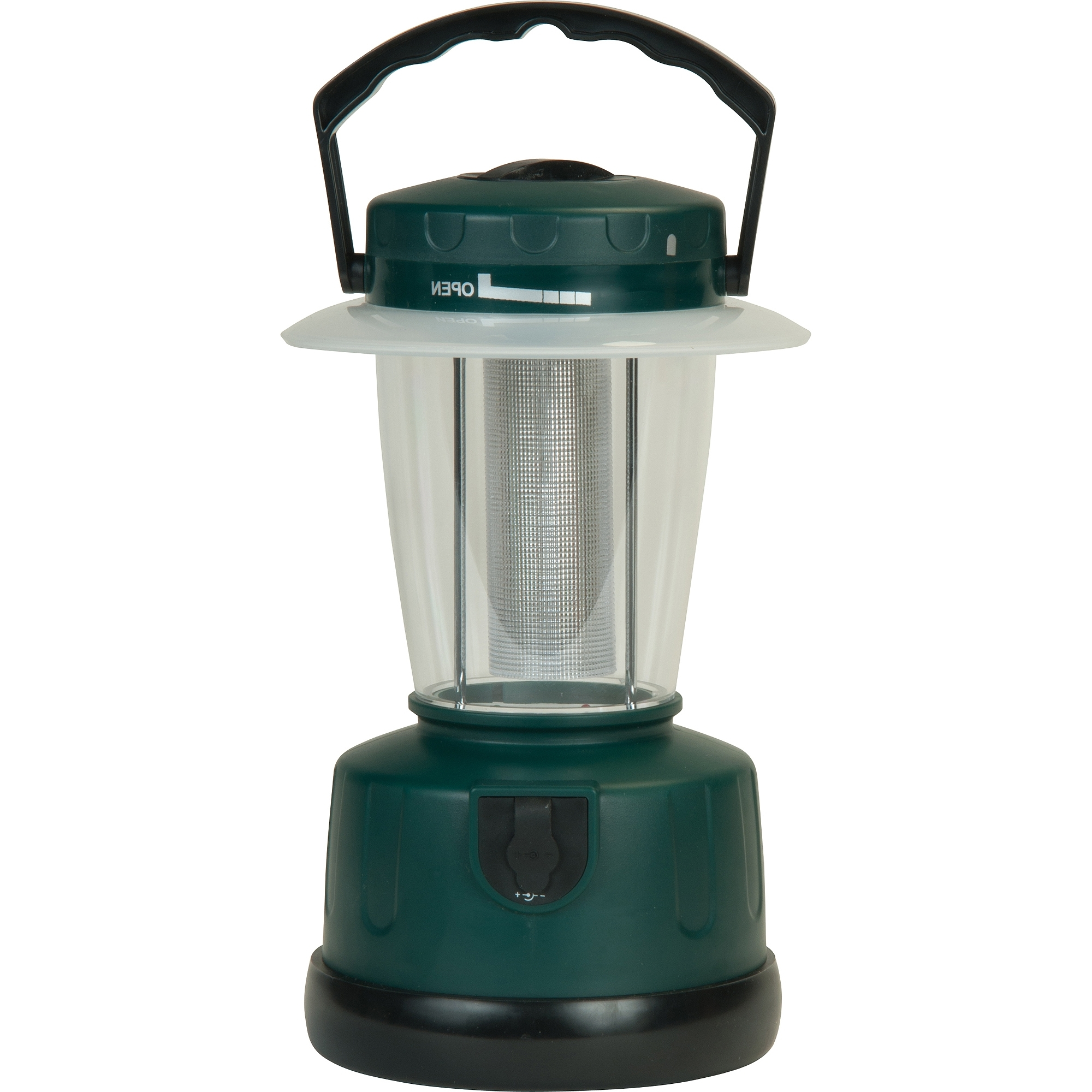 Walmart Outdoor Lanterns Within Well Known Ozark Trail Indoor/outdoor Lantern, Green – Walmart (View 17 of 20)