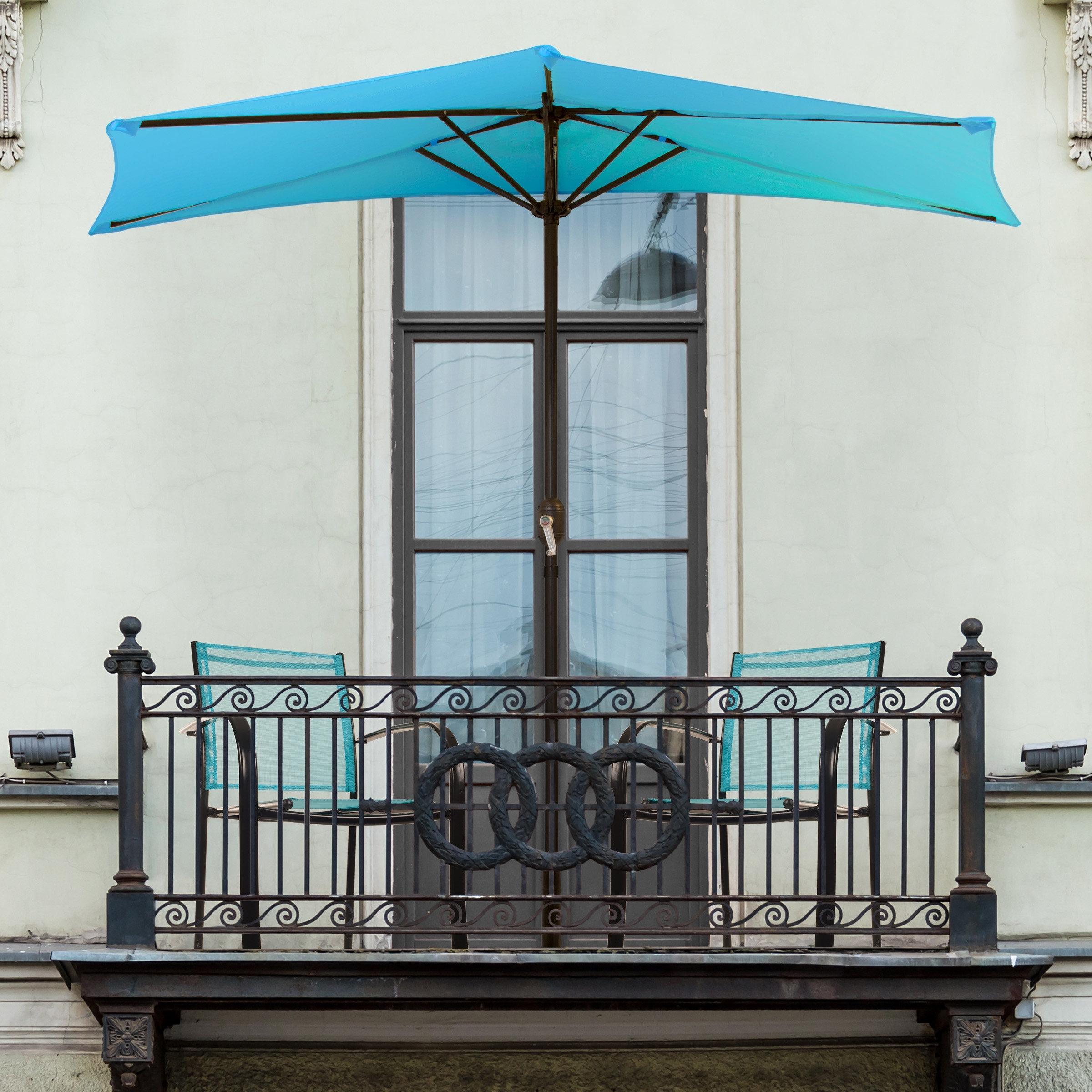 Wayfair In Most Recently Released Half Patio Umbrellas (View 19 of 20)