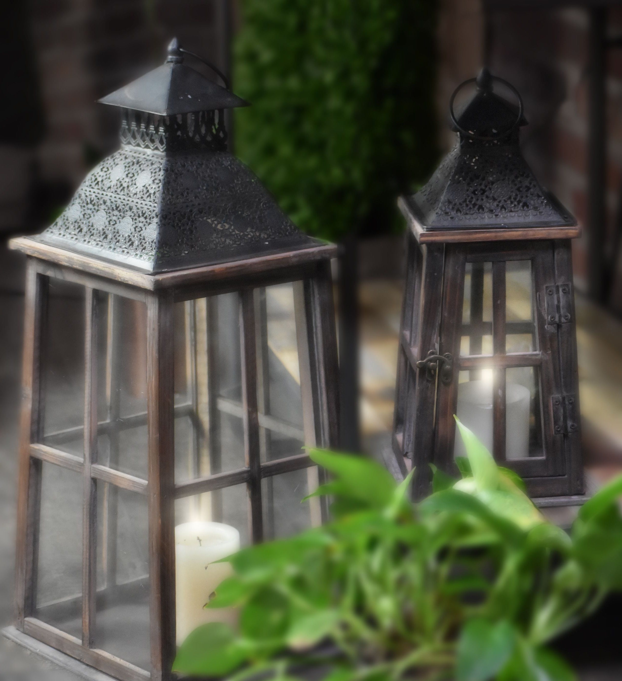 Welcome The Evening With Shimmering Light In Beautiful Lanterns With Regard To Latest Outdoor Bamboo Lanterns (View 12 of 20)