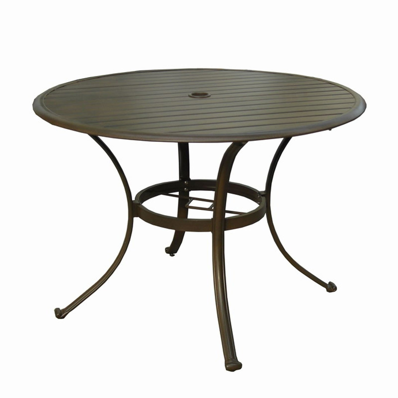 Well Known Awesome Patio Table With Umbrella Hole Patio Table With Umbrella Inside Patio Tables With Umbrella Hole (View 6 of 20)