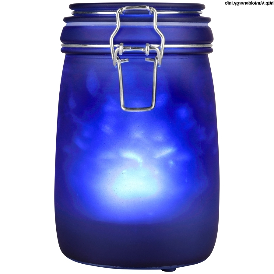 Well Known Blue Outdoor Lanterns With Regard To Great Blue Glass Light Gallery (View 10 of 20)