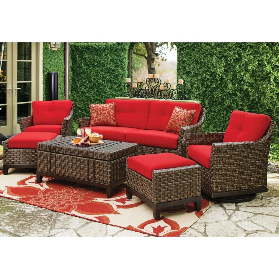 Well Known Blue Patio Furniture Sets Outdoor Navy And Green – Theestatesga For Red Sunbrella Patio Umbrellas (View 19 of 20)