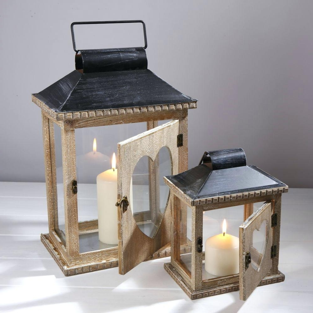 Well Known Candles ~ Giant Candle Lantern Decorative Lanterns Outdoor Candles Within Outdoor Big Lanterns (View 16 of 20)