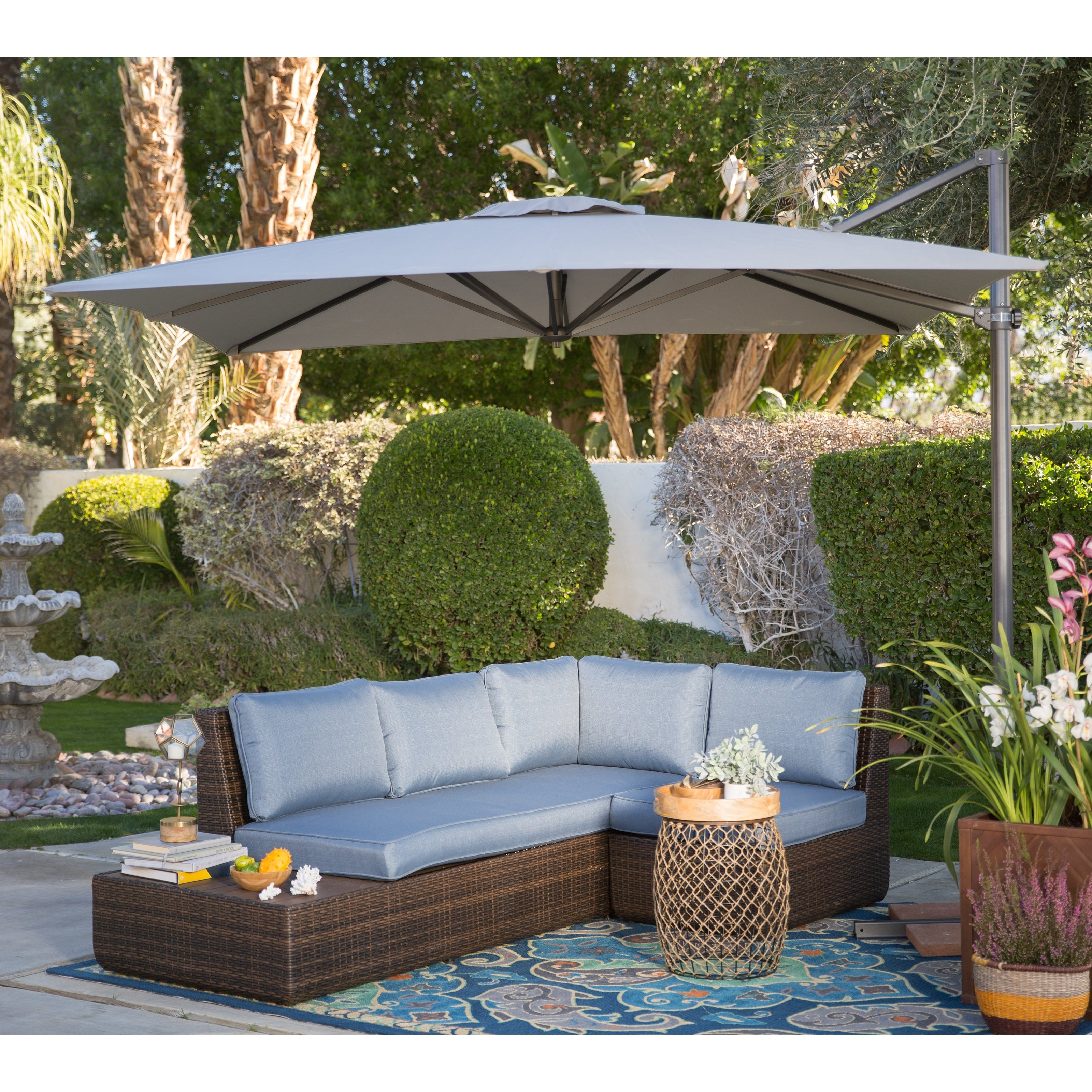 Featured Photo of Coral Coast Offset Patio Umbrellas