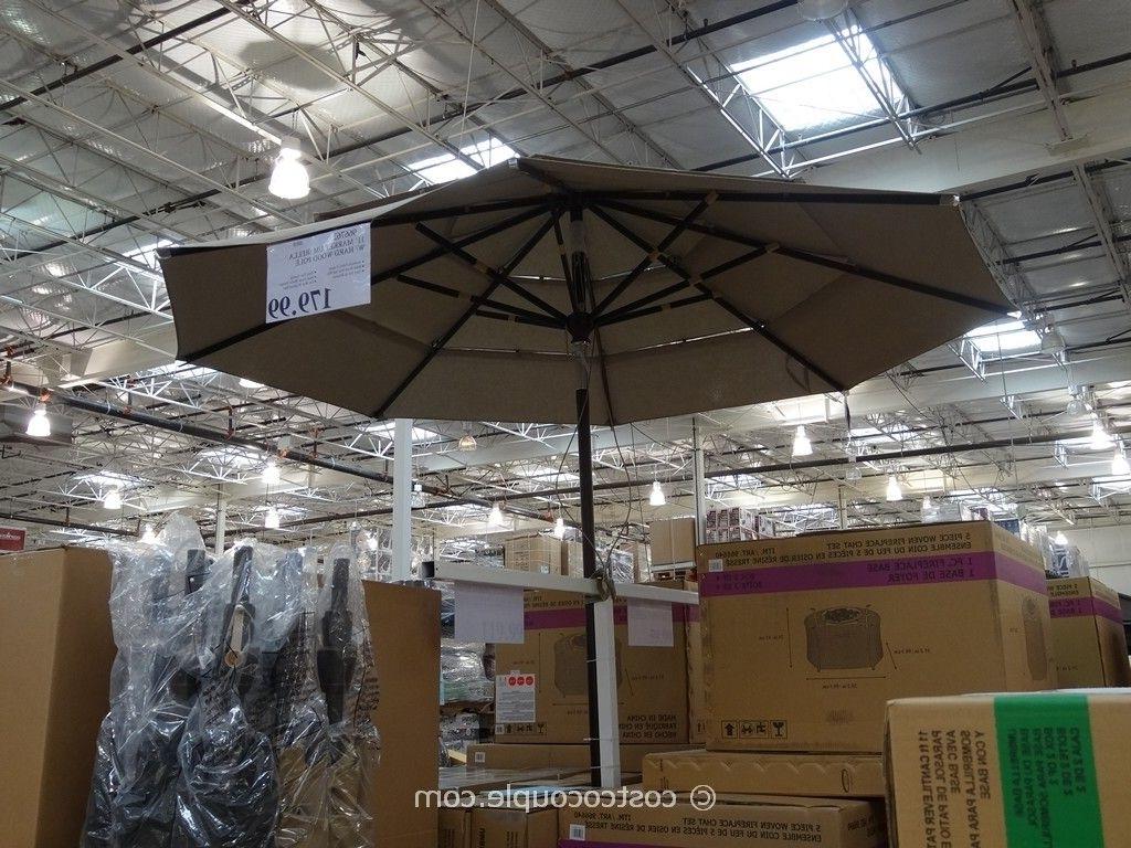 Well Known Costco Patio Umbrellas In Multipurpose Furniture Patio Furniture Clearance Costco Costco (View 16 of 20)