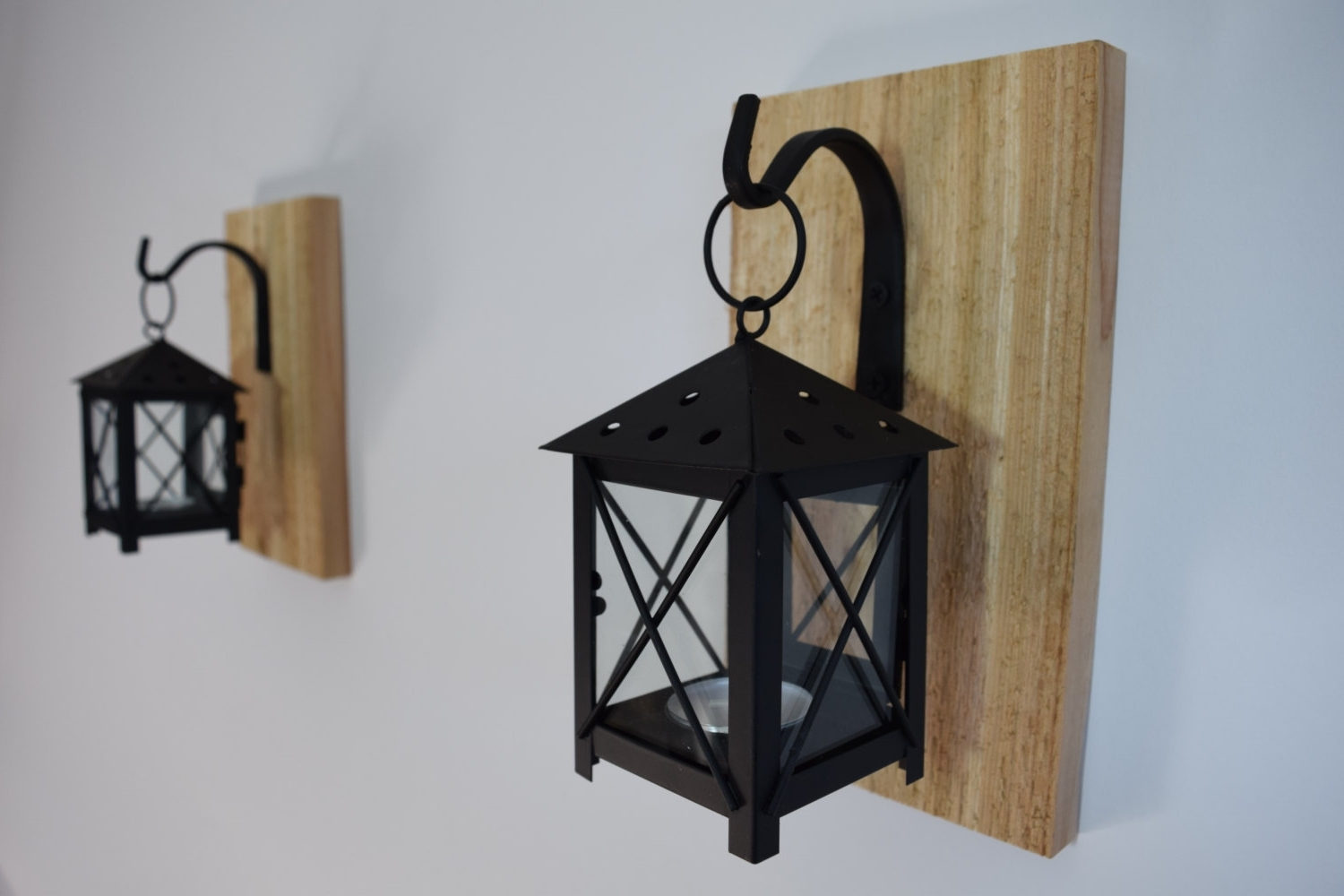 Well Known Etsy Outdoor Lanterns Pertaining To Wall Sconce Candle Holder Lantern Sconceswall Sconces Candles (View 18 of 20)