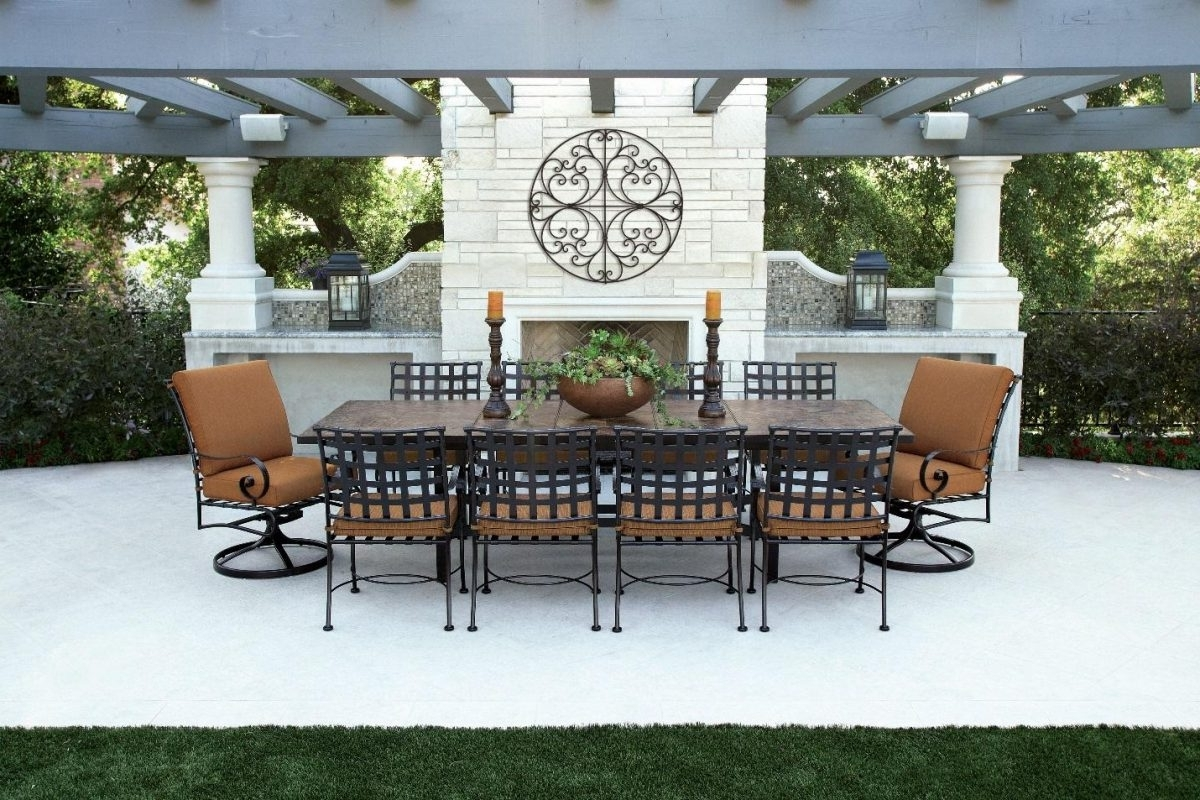 Well Known Expensive Patio Umbrellas Pertaining To How To Make Your Outdoor Dining Area Look More Expensive (View 16 of 20)