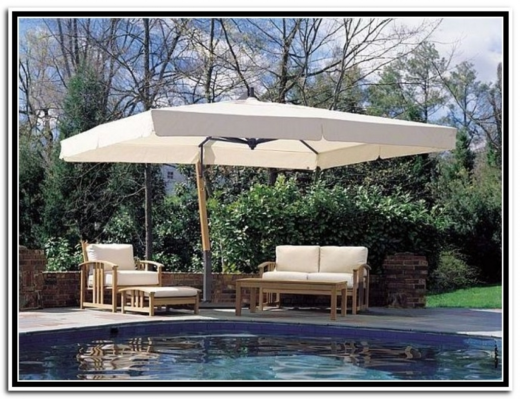 Well Known Extra Large Patio Umbrellas Inside Sleek Image Large Patio Umbrellas Outdoor Large Patio Umbrellas (View 4 of 20)