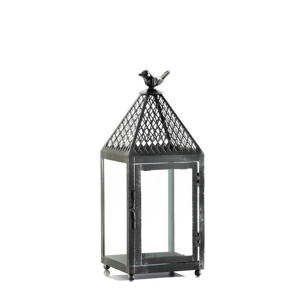 Well Known Floor Lanterns, Hanging Metal Decorative Rustic Outdoor Lantern Throughout Outdoor Lanterns (View 19 of 20)