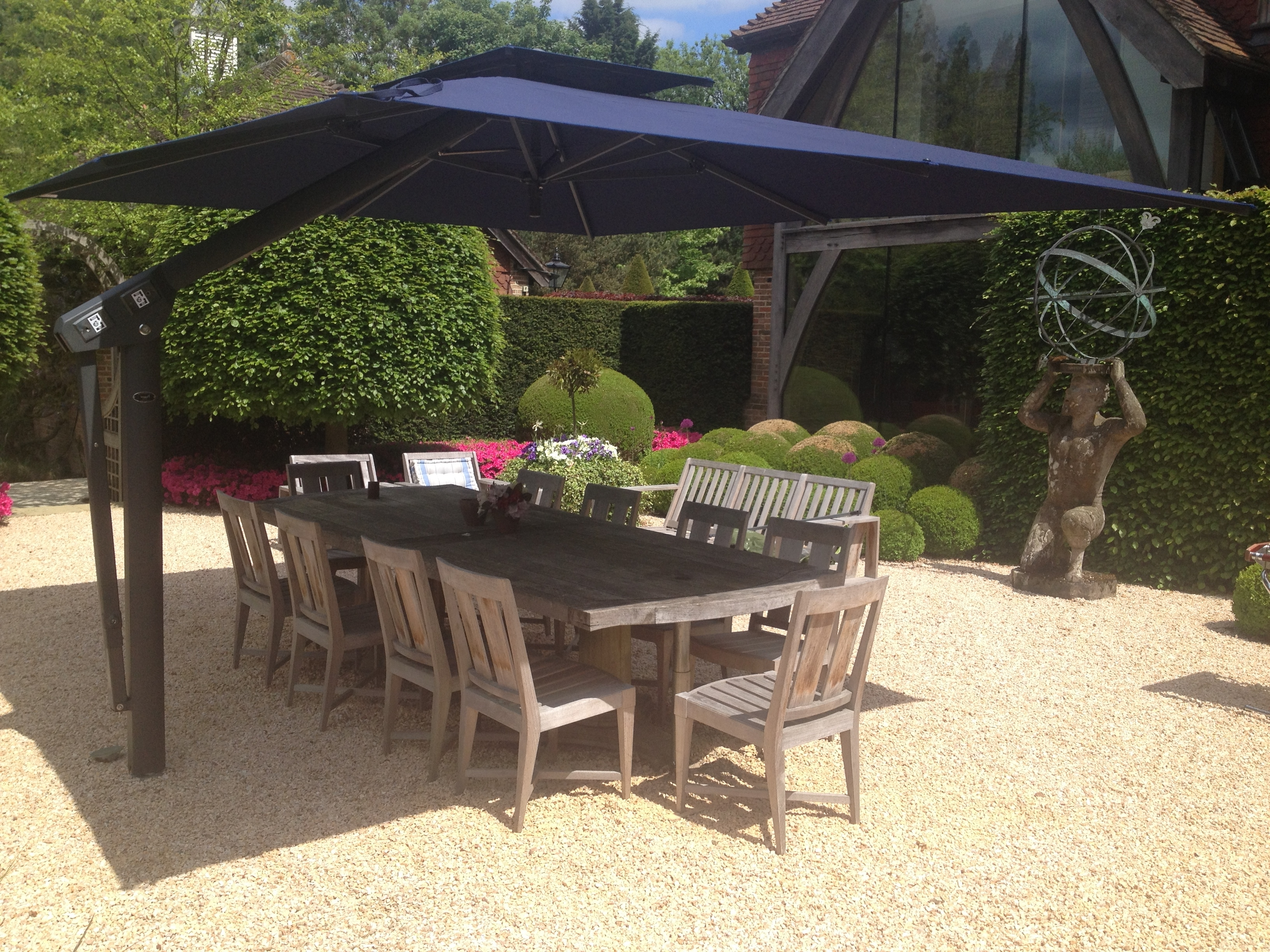 Well Known Heavy Duty Patio Umbrellas Intended For Heavy Duty Patio Umbrellas Uk F84X On Amazing Small Home Decor (View 19 of 20)