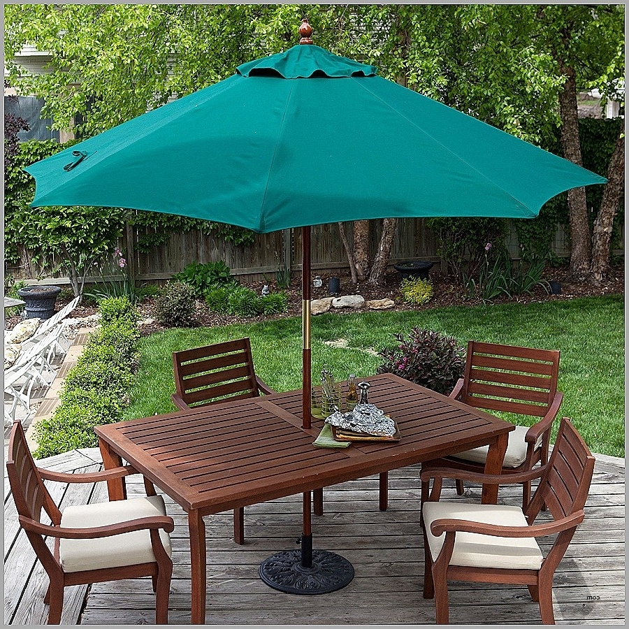 Well Known Lighted Patio Umbrellas Regarding Patio Post Lights (View 17 of 20)