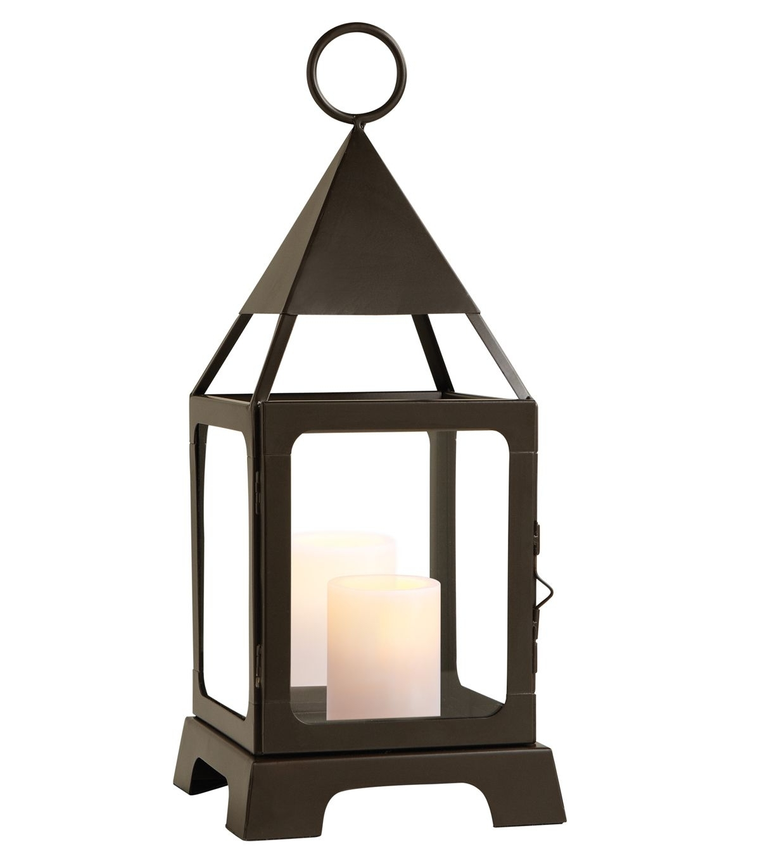Well Known Medium Lantern Candle Holder Ledmedium Lantern Candle Holder Led With Joanns Outdoor Lanterns (View 20 of 20)