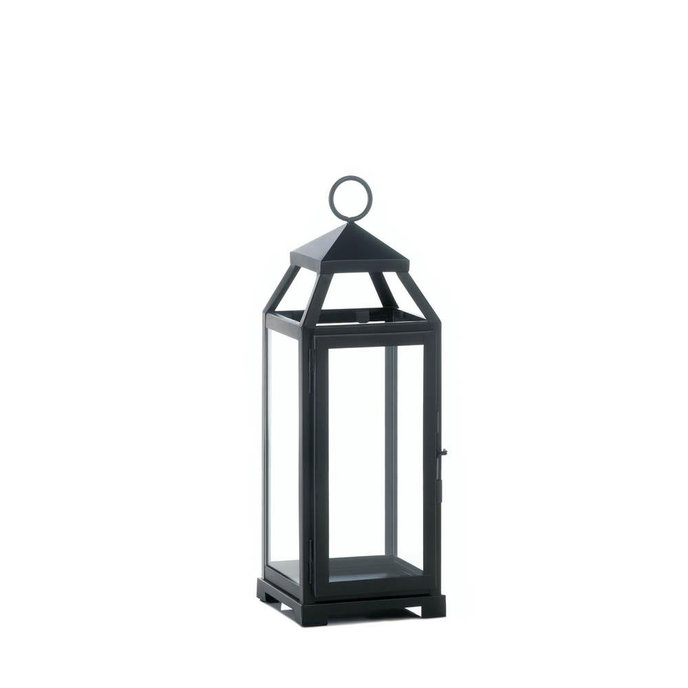 Well Known Metal Outdoor Lanterns Within Outdoor Lanterns, Medium Lean Sleek Metal Decorative Floor Patio (View 19 of 20)