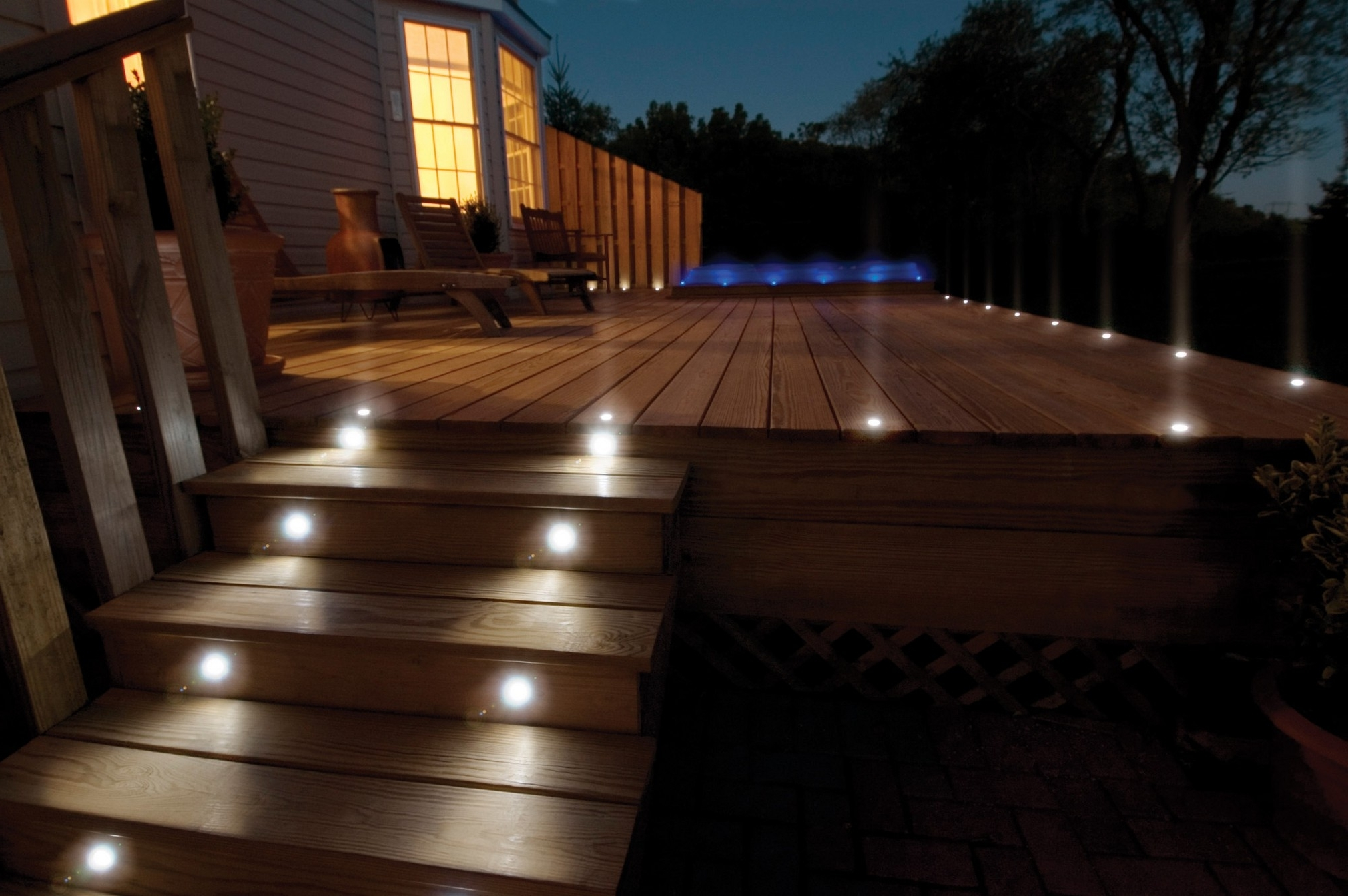 Well Known Outdoor Deck Lighting In Security Projects With Reflector — Three Inside Outdoor Ground Lanterns (View 19 of 20)