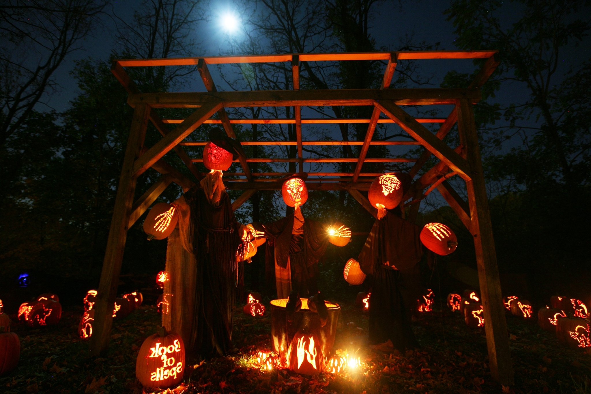 Well Known Outdoor Halloween Lanterns Inside Outdoor Halloween Party Ideas For Adults At Modern Home Design Ideas (View 18 of 20)