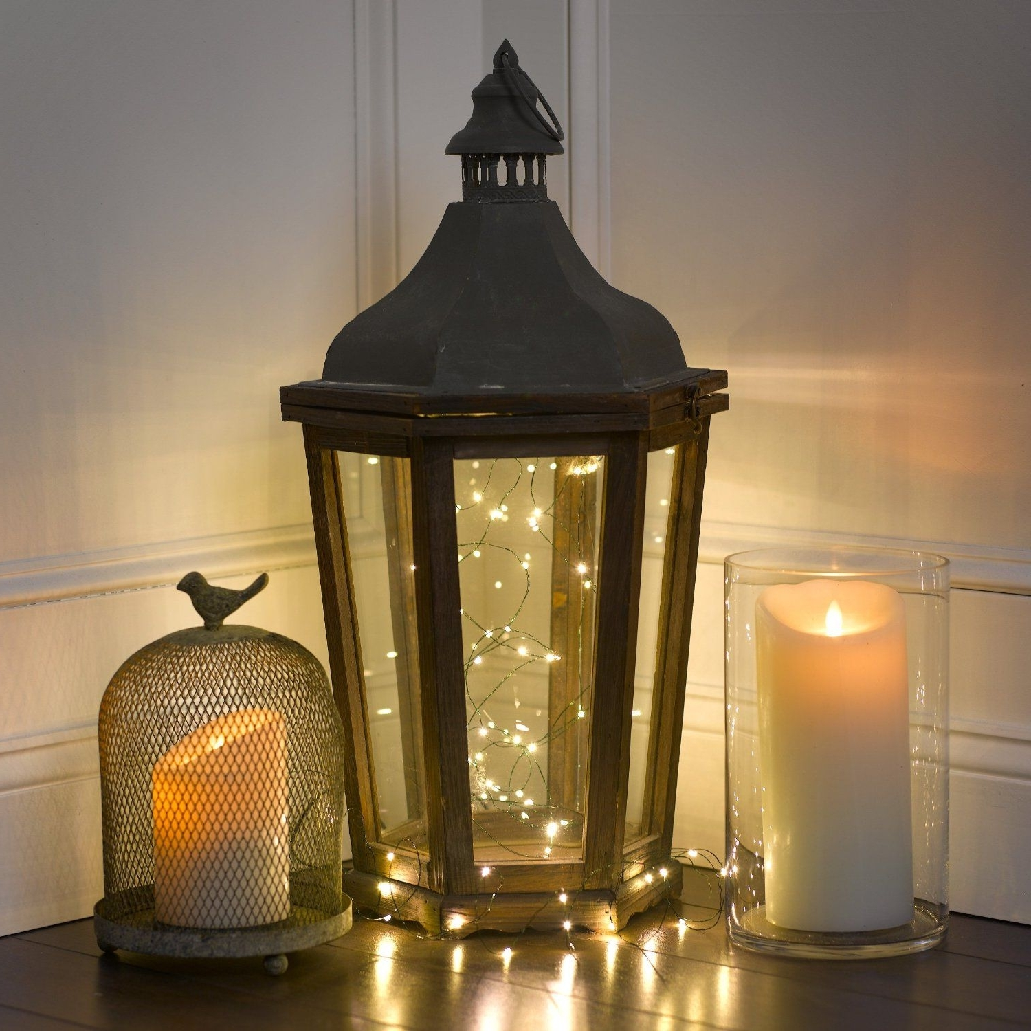 Well Known Outdoor Luminara Lanterns Within Amazon – Luminara Wax Candle,  (View 19 of 20)