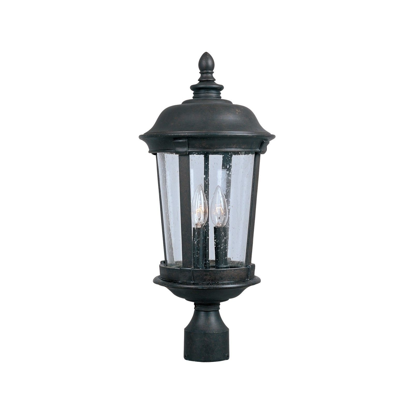 Well Known Outdoor Pole Lanterns With Maxim Dover Vx 3 Light Outdoor Pole/ Post Mount (Dover Vx 3 Light (View 7 of 20)