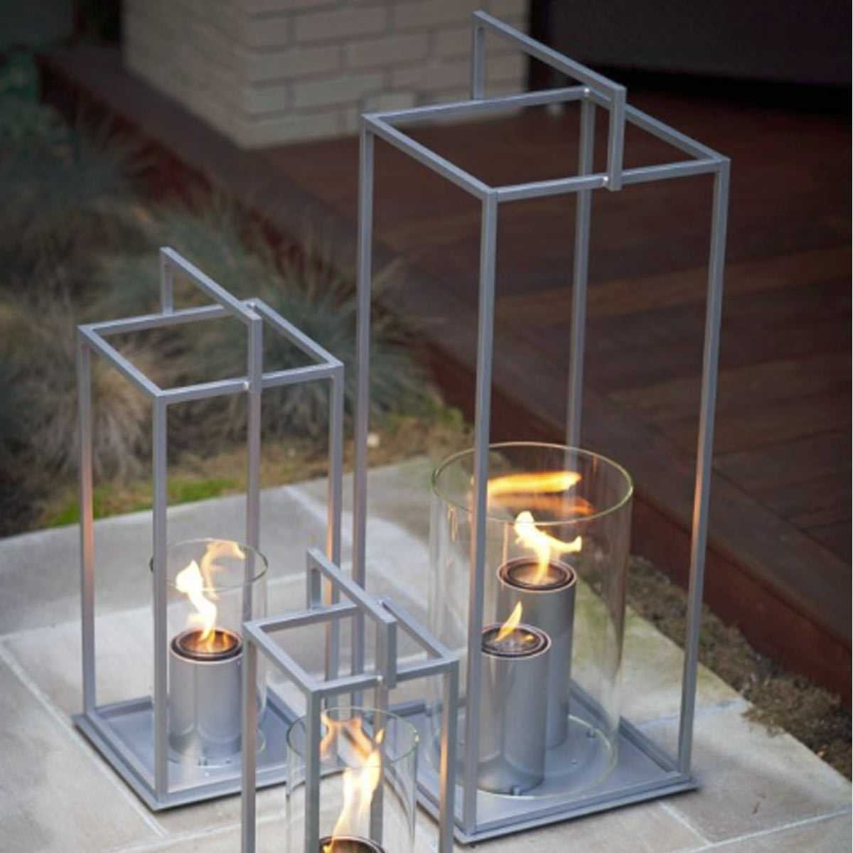 """Well Known Providence Gel Fuel Series 34"""" Lantern For Outdoor Gel Lanterns (View 20 of 20)"""