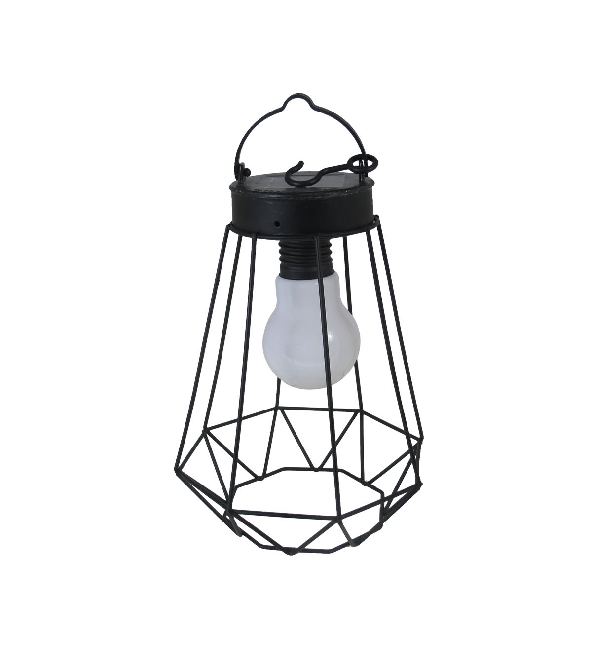 Well Known Seaport Jewel Solar Lantern Black (View 4 of 20)