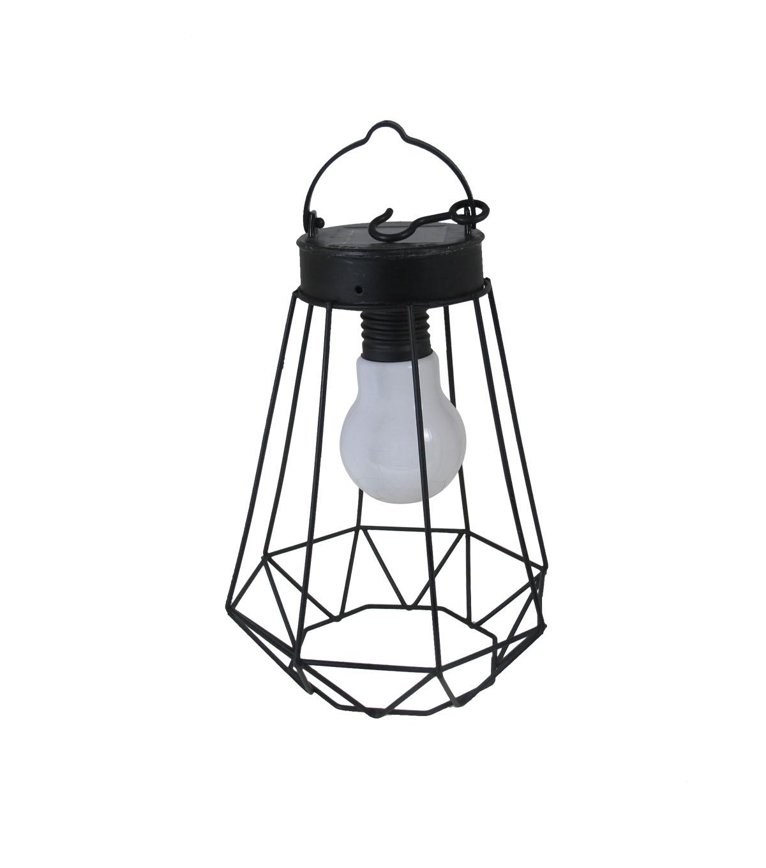 Well Known Seaport Jewel Solar Lantern Black (View 19 of 20)