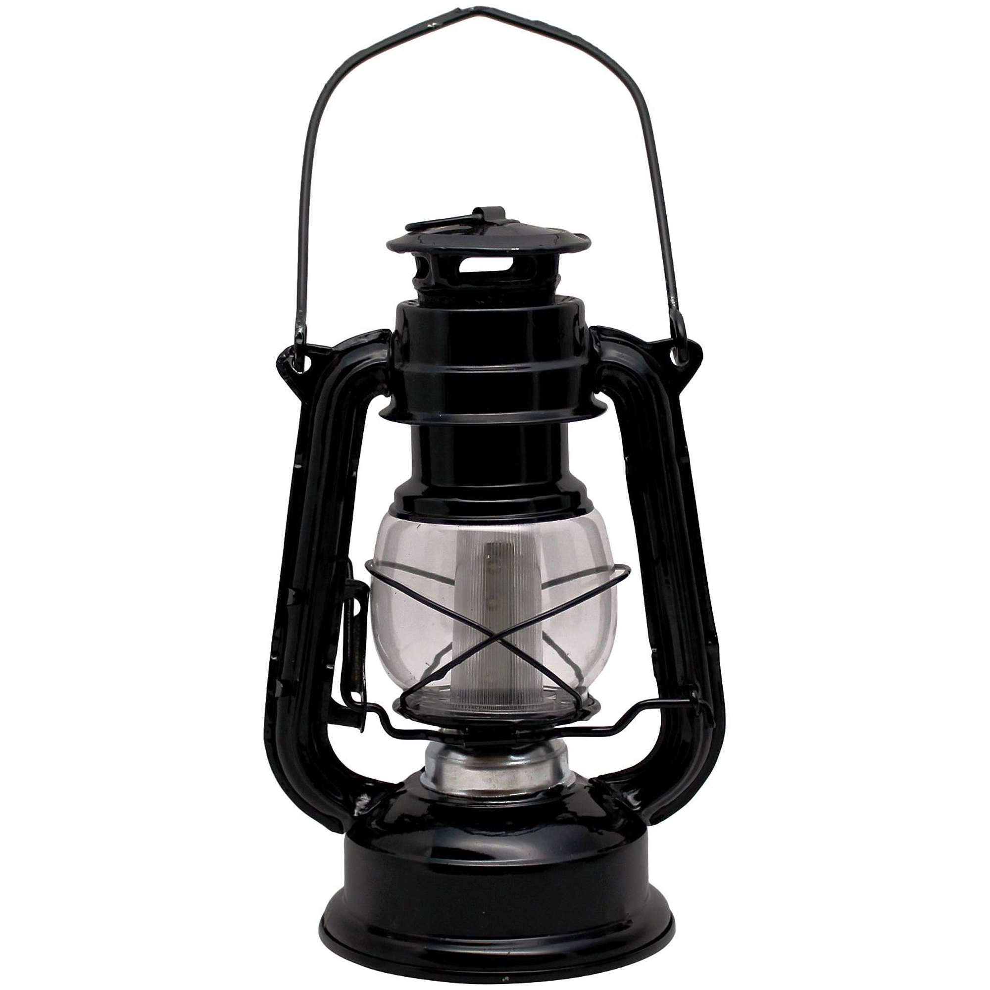 Well Known Sentry Railroad 12 Led Lantern, Black – Walmart Within Outdoor Railroad Lanterns (View 18 of 20)