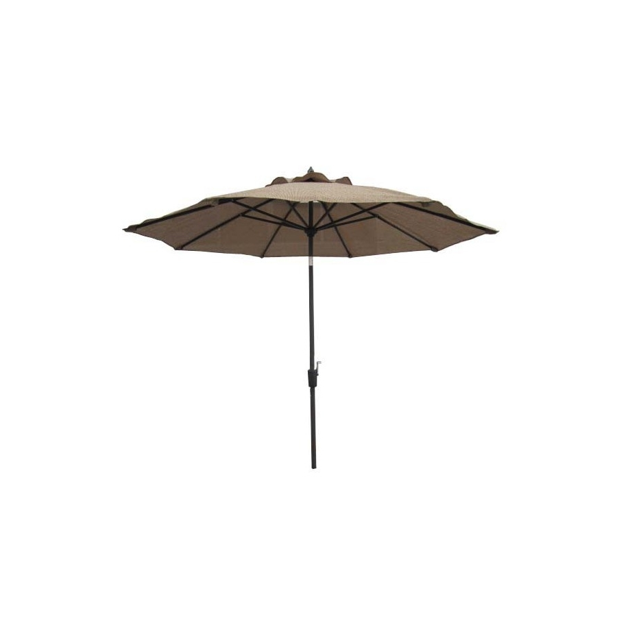 Well Known Shop Garden Treasures Patio Umbrella (Common: 106 In W X 106 In L Throughout Garden Treasures Patio Umbrellas (View 18 of 20)
