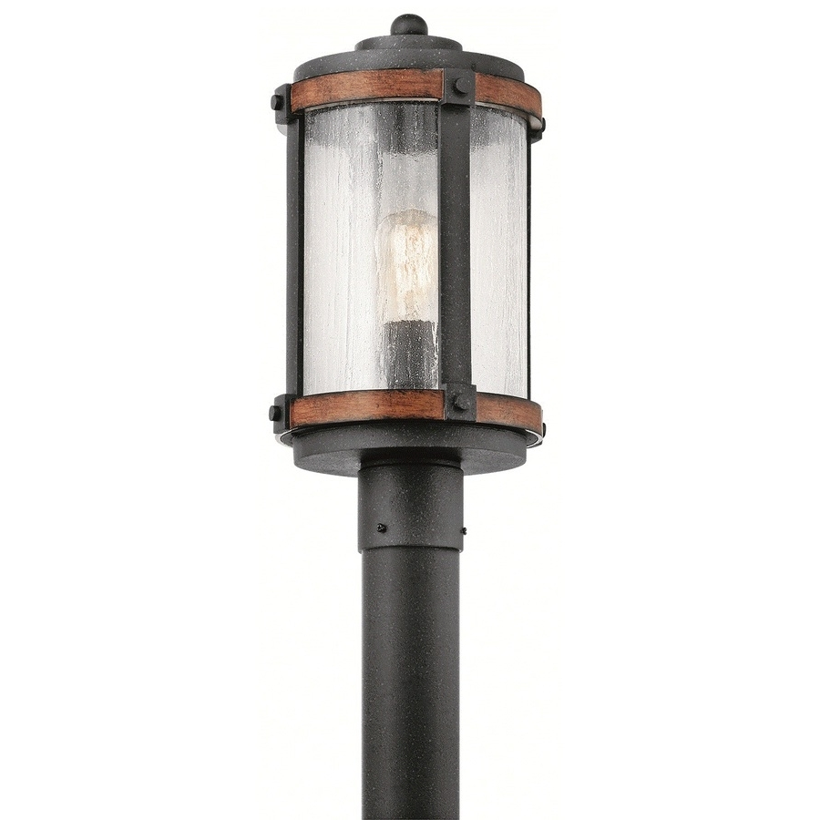 Well Known Shop Post Lighting At Lowes Intended For Outdoor Pole Lanterns (View 18 of 20)