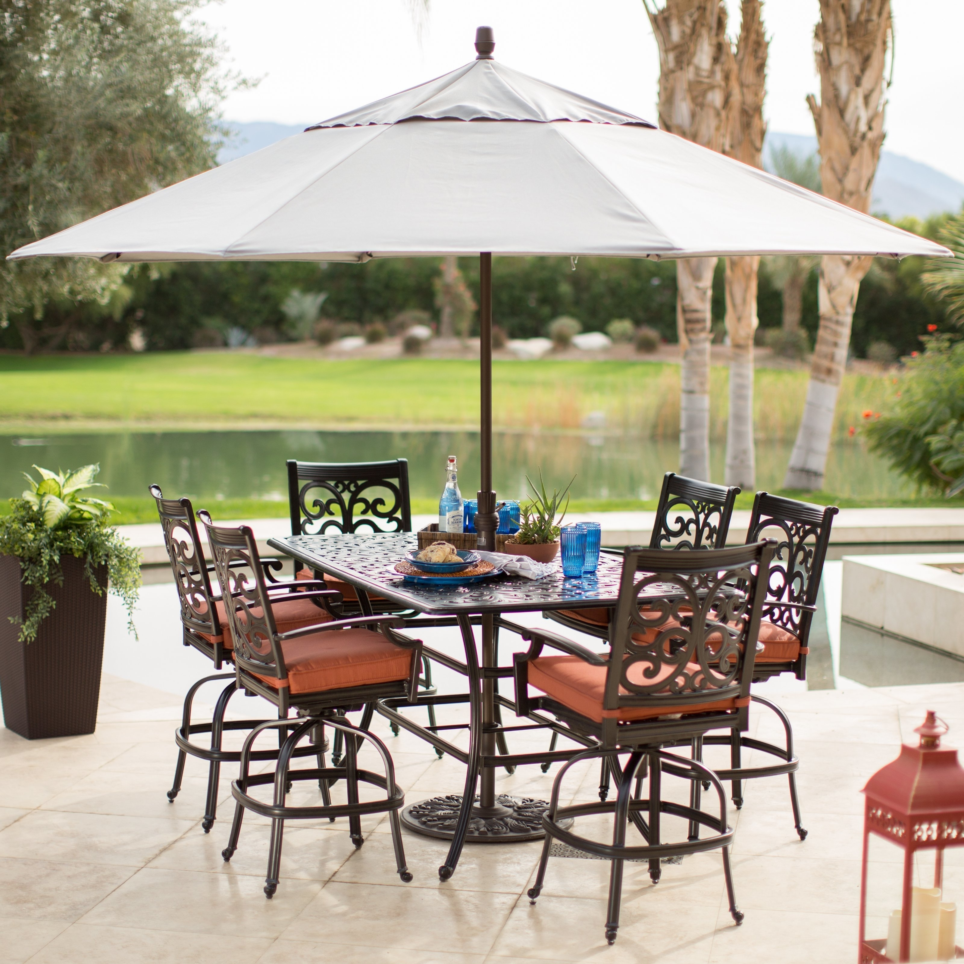 Well Known Target Patio Umbrellas Intended For Fabulous Target Patio Umbrella Furniture Cozy Outdoor Patio (View 16 of 20)
