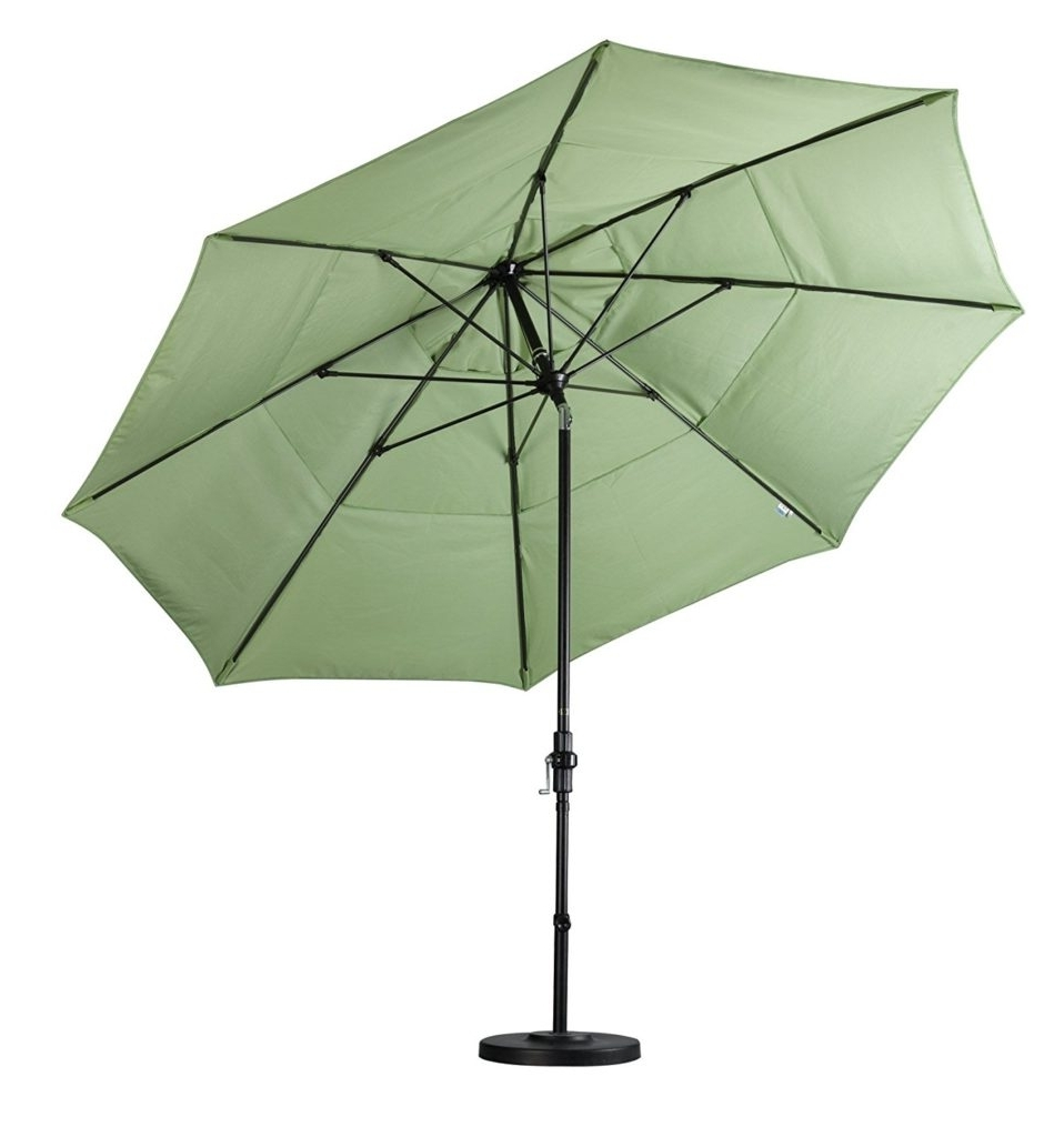 Well Known Vented Patio Umbrellas Pertaining To Double Vented Patio Umbrella Reviews – Outsidemodern (View 19 of 20)