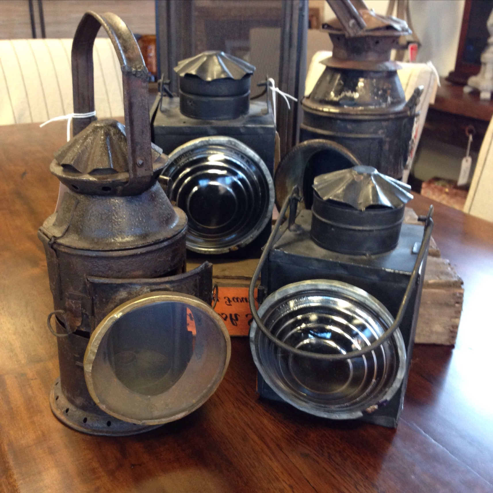 Well Liked Authentic Antique Railroad Lanterns – Kudzu Antiques Regarding Outdoor Railroad Lanterns (View 19 of 20)