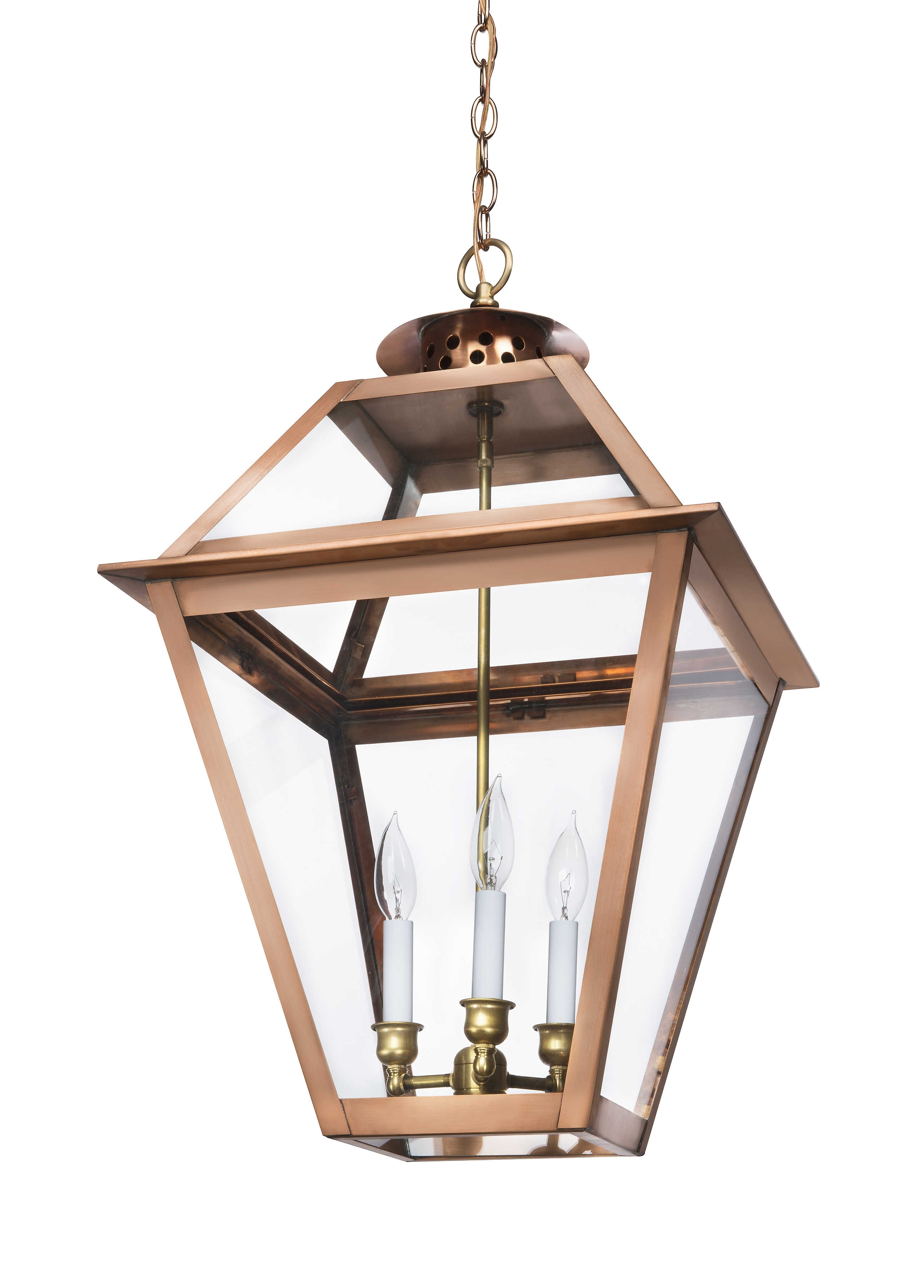 Well Liked Copper Outdoor Electric Lanterns With The Charleston Collection (View 5 of 20)