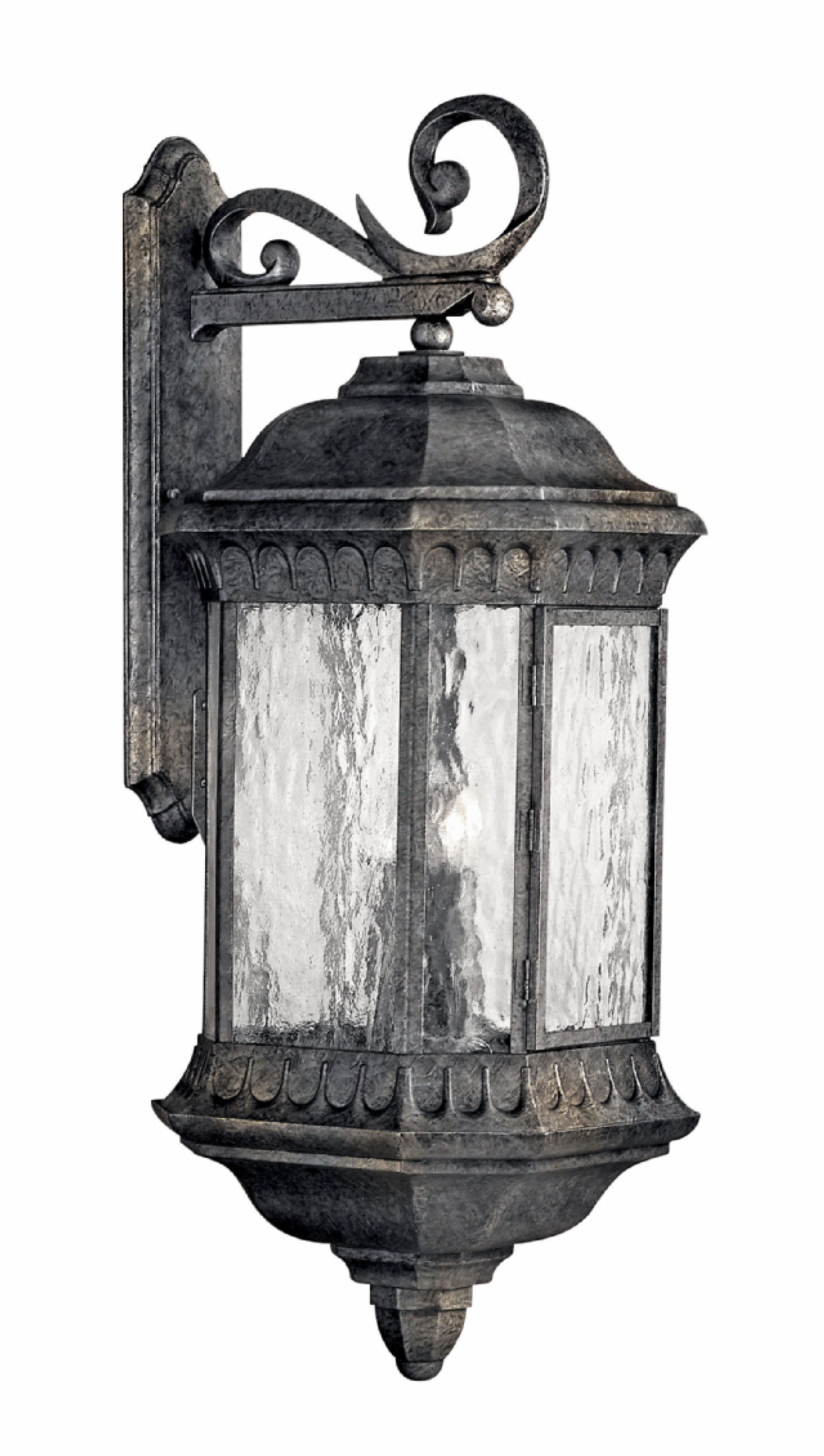 Well Liked Outdoor Entrance Lanterns Intended For Black Granite Regal > Exterior Wall Mount (View 10 of 20)