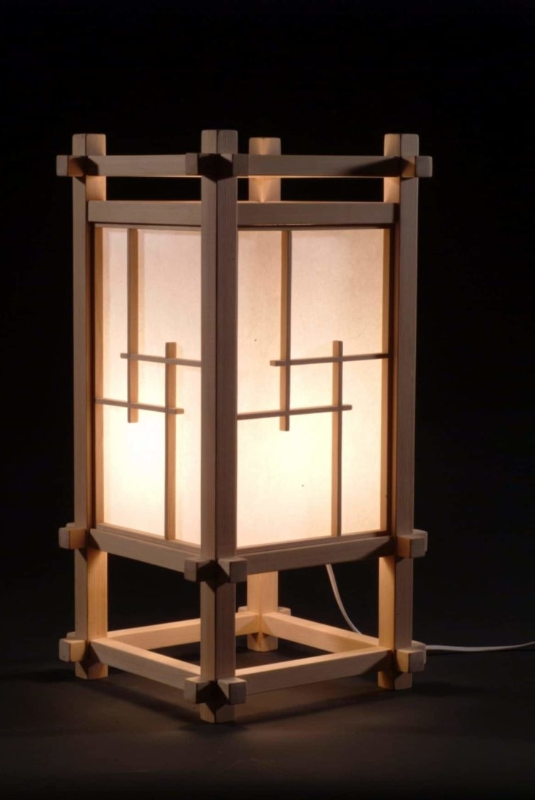 Well Liked Outdoor Lighting Japanese Lanterns In Selection Of 10 Japanese Lamps • Id Lights (View 17 of 20)