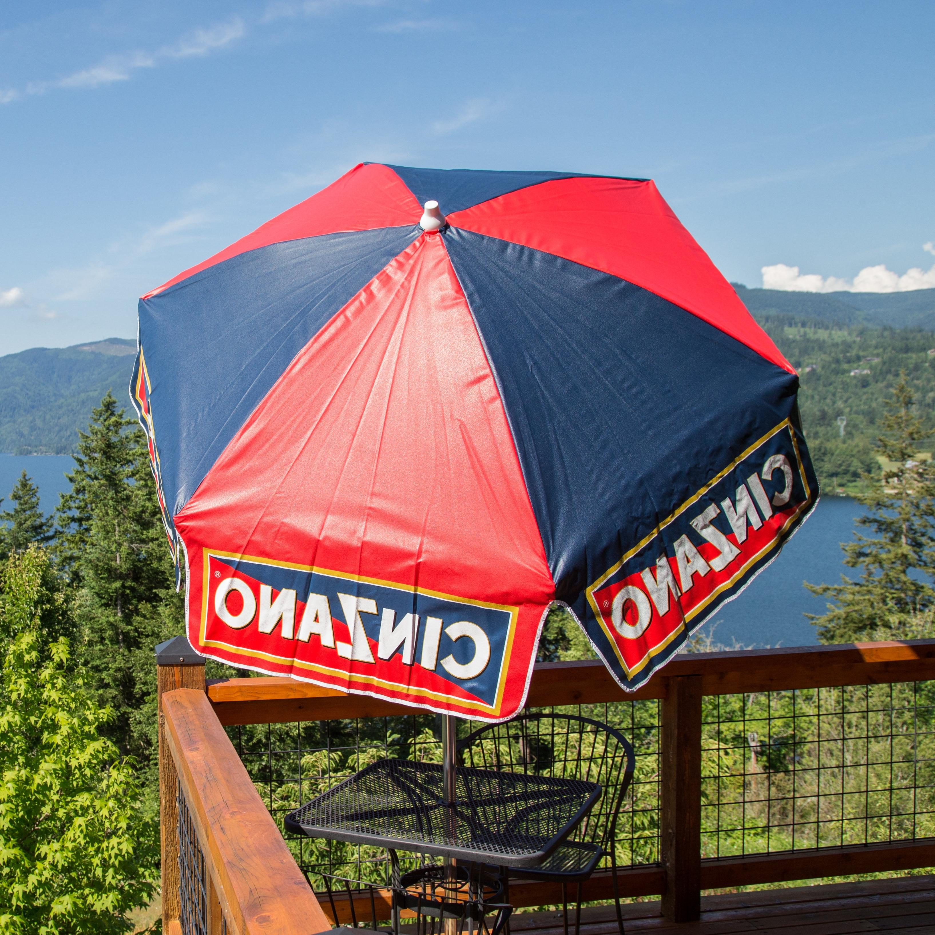 Well Liked Parasol Cinzano 6' Drape Umbrella & Reviews (View 11 of 20)