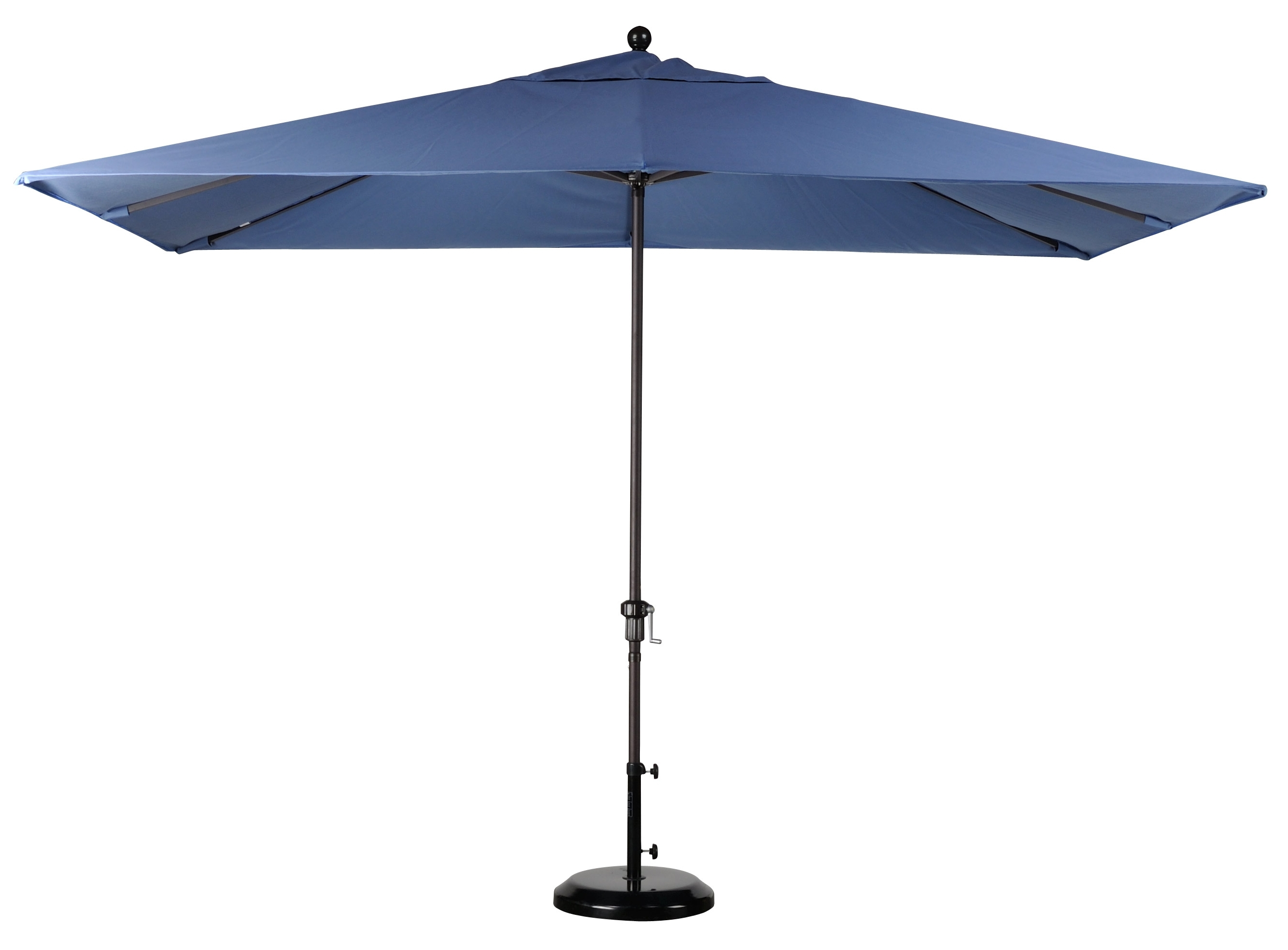 Well Liked Sunbrella Patio Umbrella With Lights Intended For Best Selection Rectangular Market Umbrellas – Featuring Sunbrella (View 20 of 20)