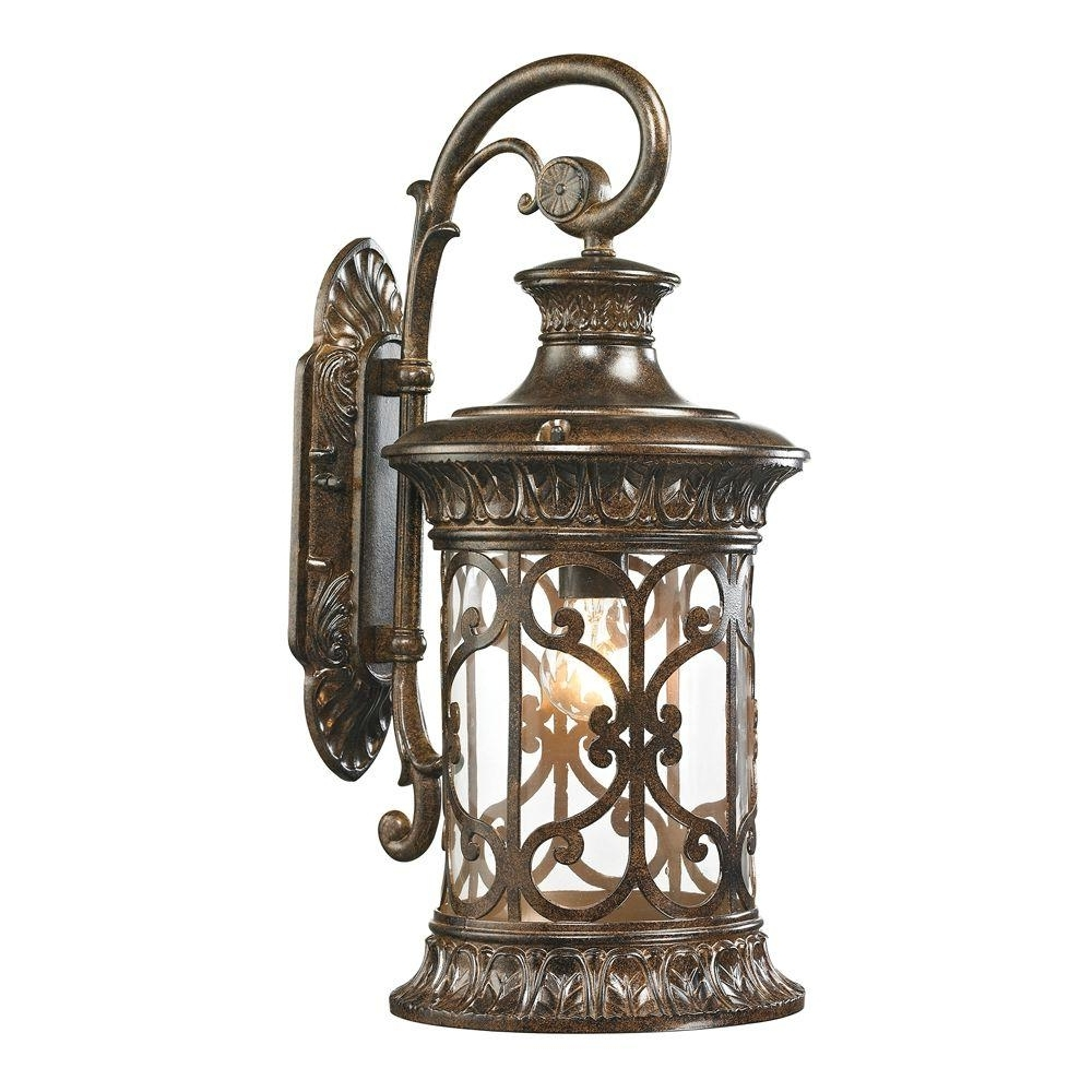 Well Liked Titan Lighting Marius Collection Light Hazelnut Bronze Outdoor In Inexpensive Outdoor Lanterns (View 20 of 20)