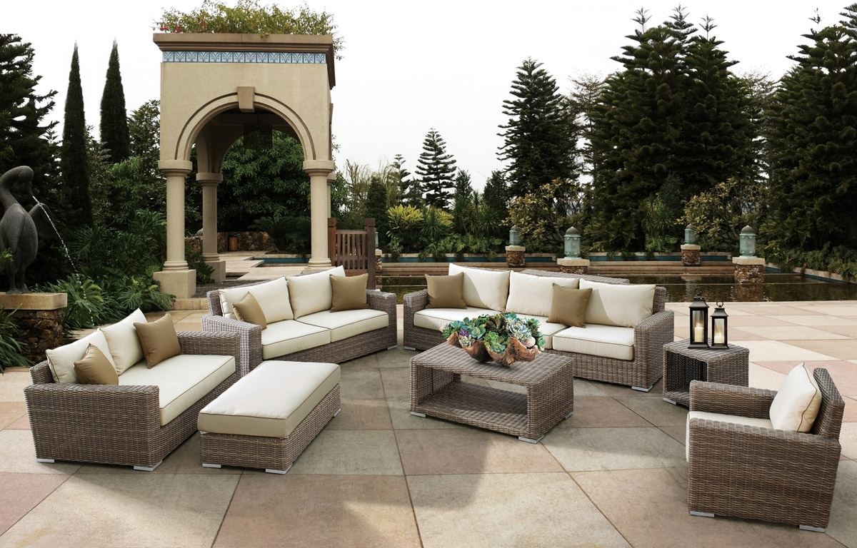 Well Liked Upscale Patio Umbrellas With The Top 10 Outdoor Patio Furniture Brands (View 4 of 20)