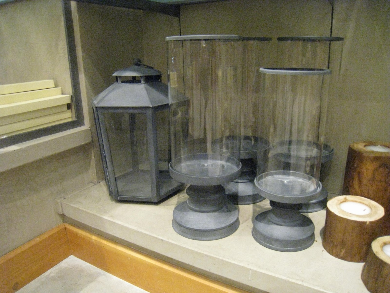 Well Liked Zinc Outdoor Lanterns With Regard To Weathered Zinc Garden Lanterns : Katy Elliott (View 13 of 20)