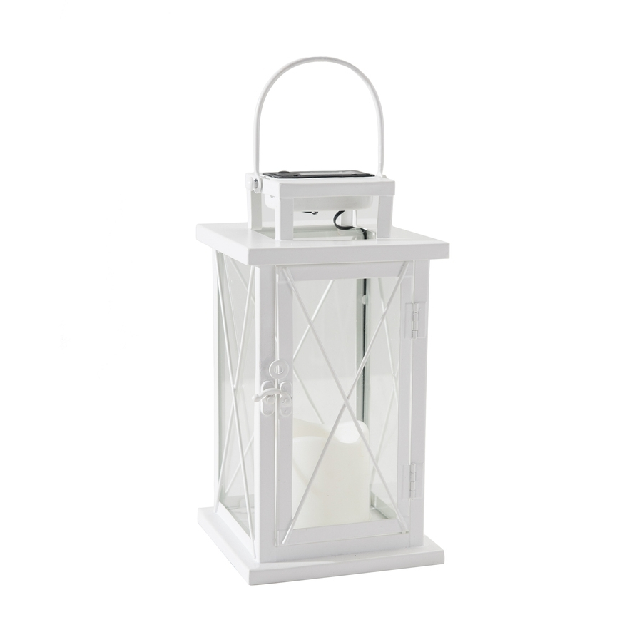 White Outdoor Lanterns Inside Widely Used Shop Sunjoy 7 In X (View 6 of 20)
