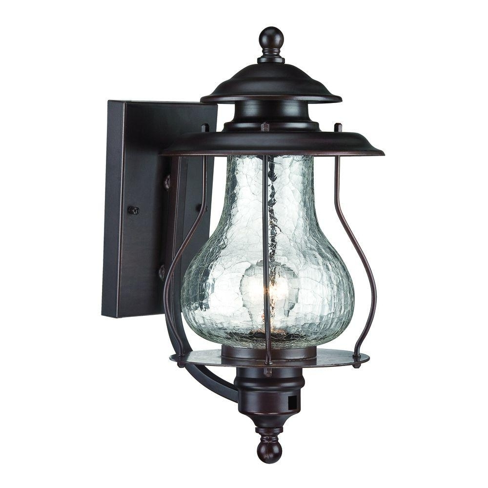 Widely Used Blue Outdoor Lanterns In Acclaim Lighting Blue Ridge Collection 1 Light Architectural Bronze (View 20 of 20)