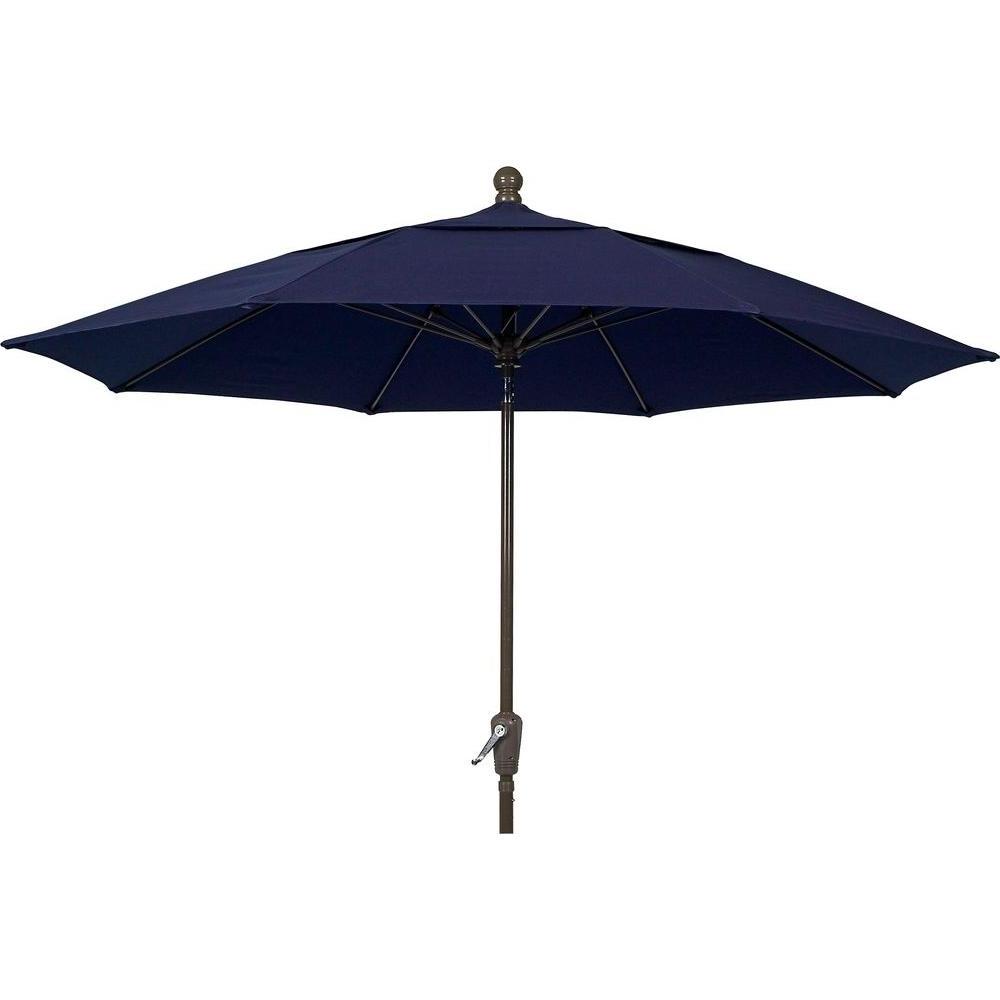 Widely Used Fiberbuilt Umbrellas Lucaya 11 Ft (View 5 of 20)