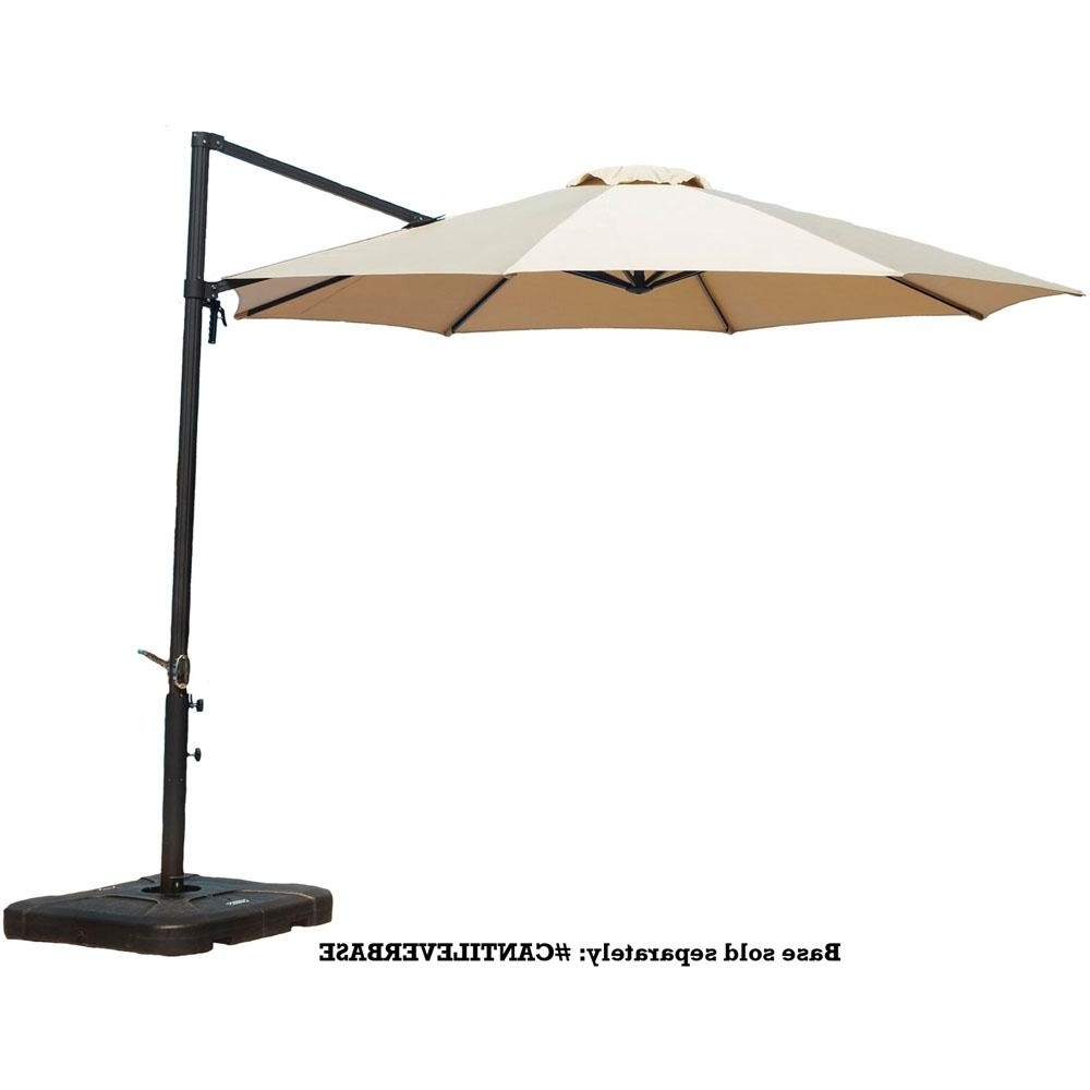 Widely Used Hampton Bay Offset Patio Umbrellas Within 52 11 Offset Patio Umbrella, Sunbrella 11 Offset Patio Umbrella With (View 8 of 20)