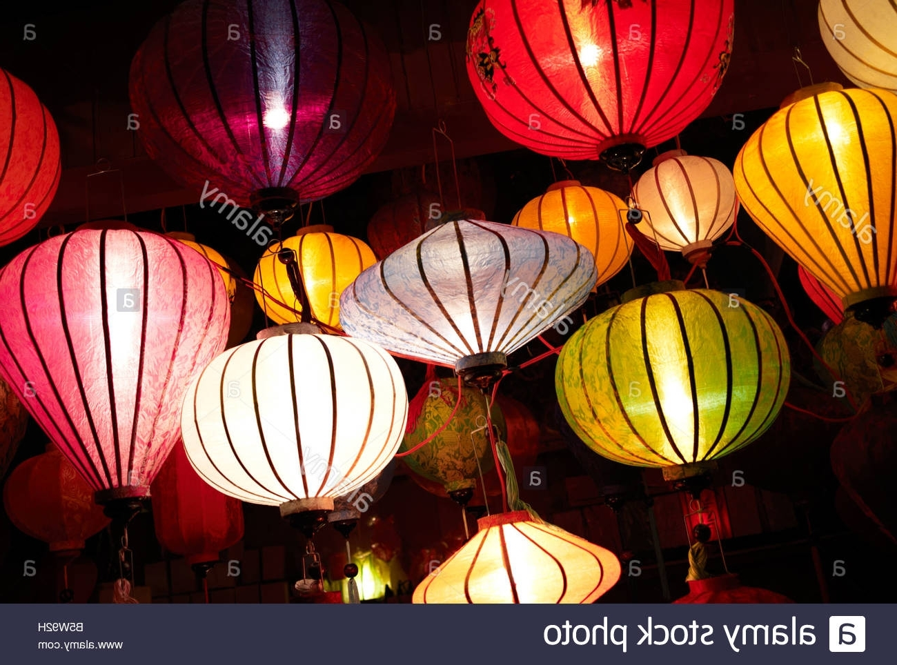 Widely Used Lantern Stall Stock Photos & Lantern Stall Stock Images – Alamy With Outdoor Vietnamese Lanterns (View 7 of 20)
