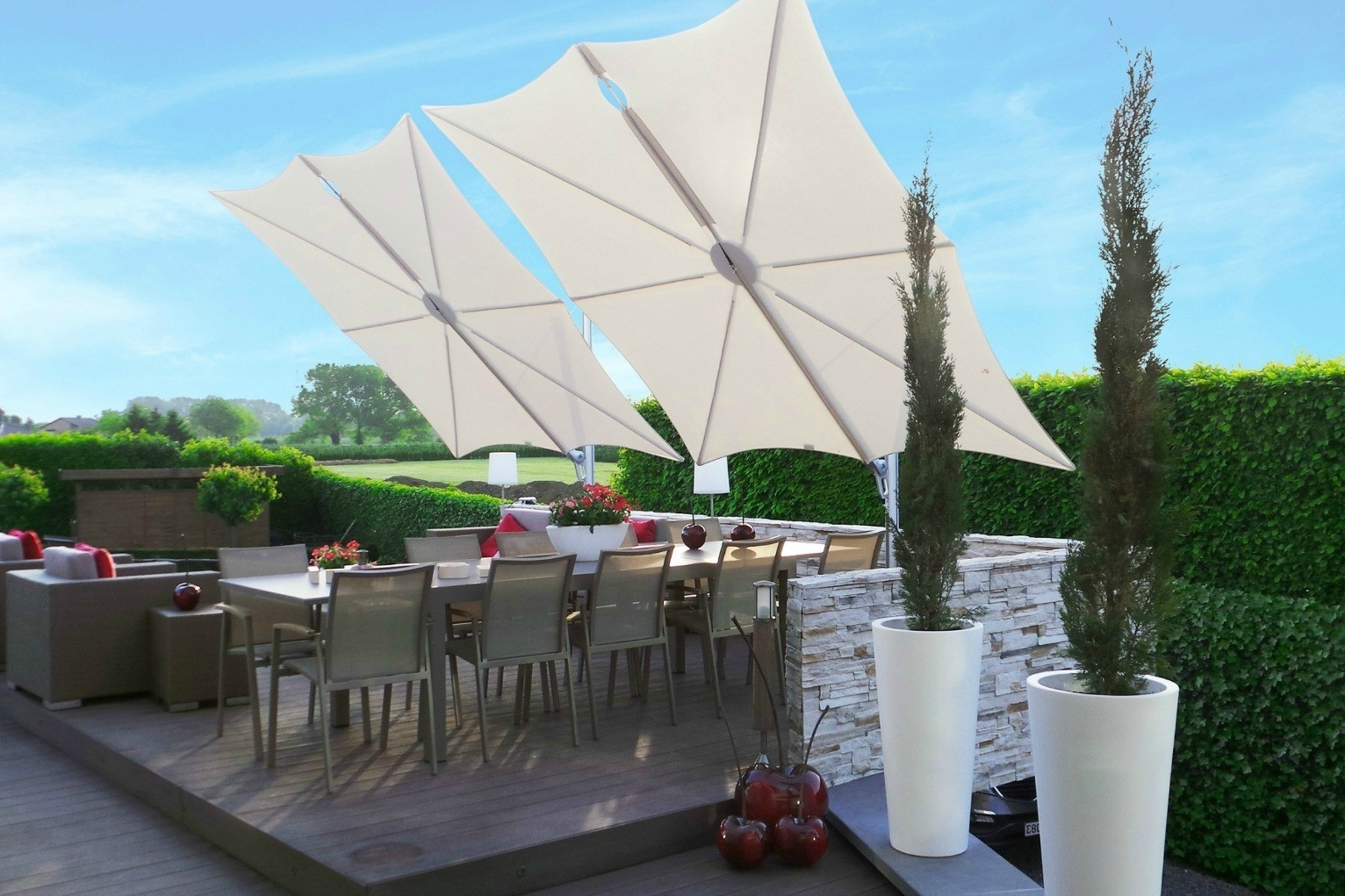 Widely Used Lovely High Wind Resistant Patio Umbrella F48x About Remodel Rustic Throughout Patio Umbrellas For High Wind Areas (View 5 of 20)