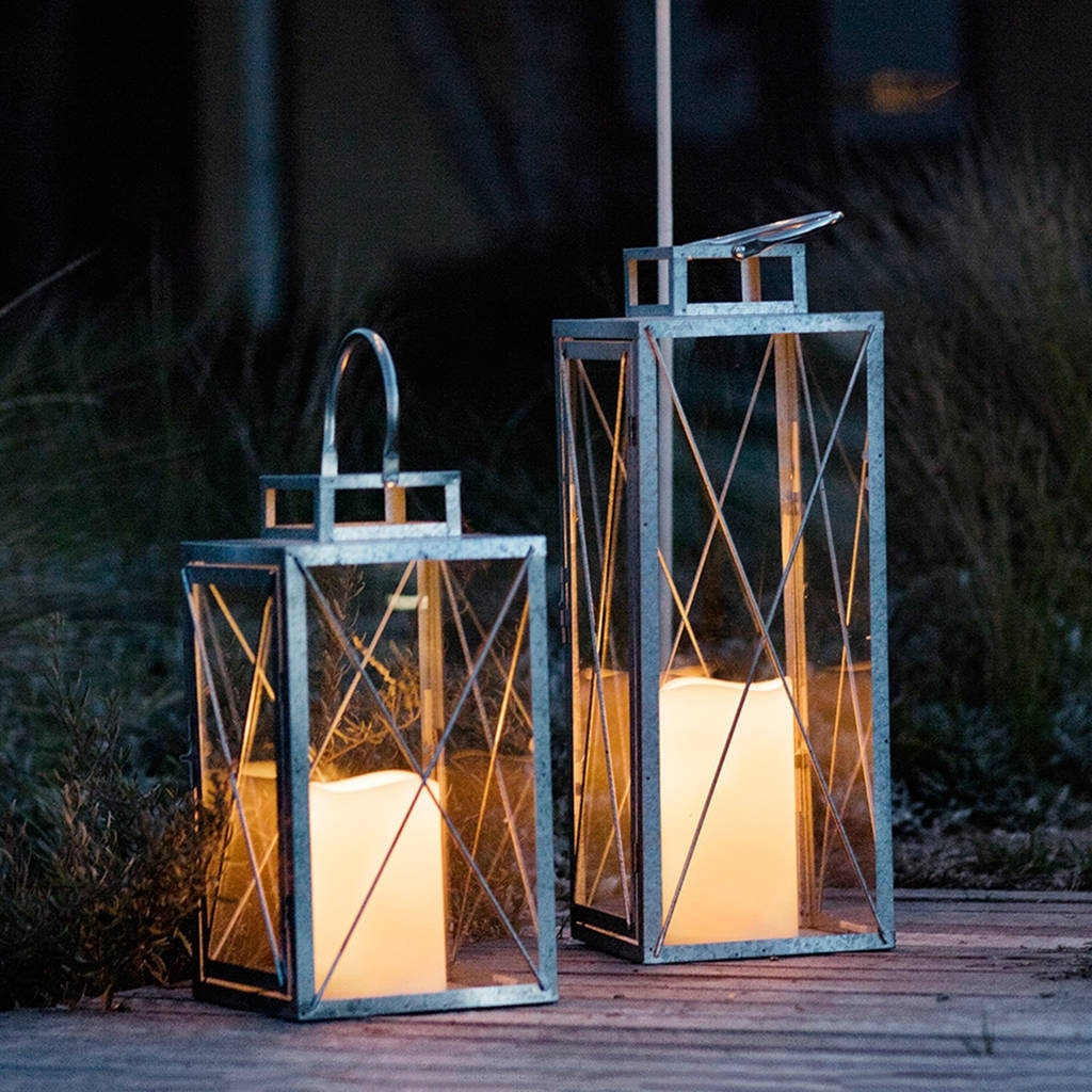 Widely Used Outdoor Indian Lanterns Inside St Austell Outdoor Battery Candle Lantern Setlights4Fun (View 20 of 20)