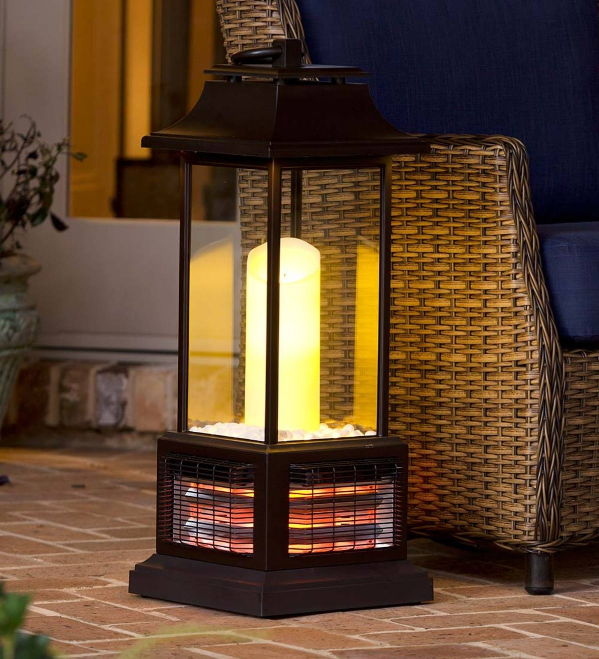 Widely Used Outdoor Infrared Lantern Heater (View 5 of 20)