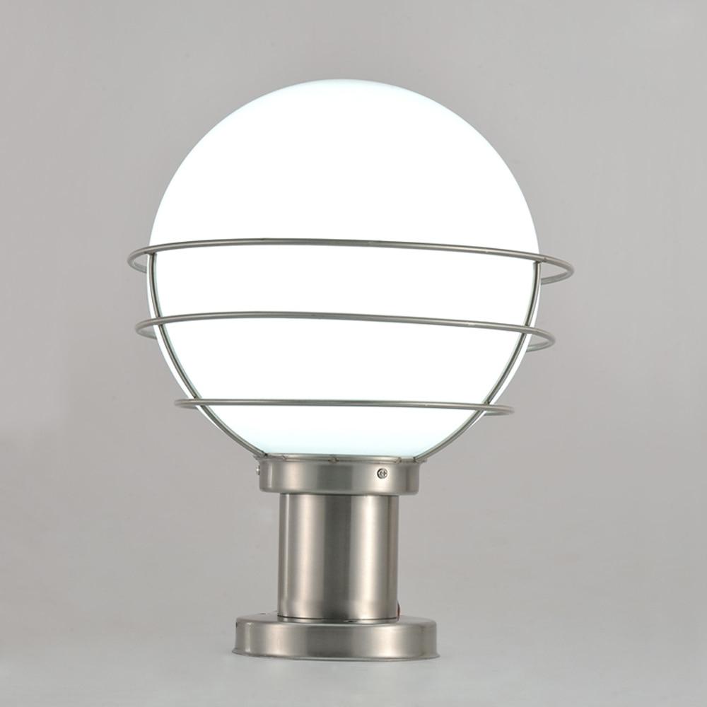 Widely Used Outdoor Pillar Lanterns Inside Modern Stainless Steel&acrylic Garden/yard/fence Lamp Pillar Light (View 6 of 20)