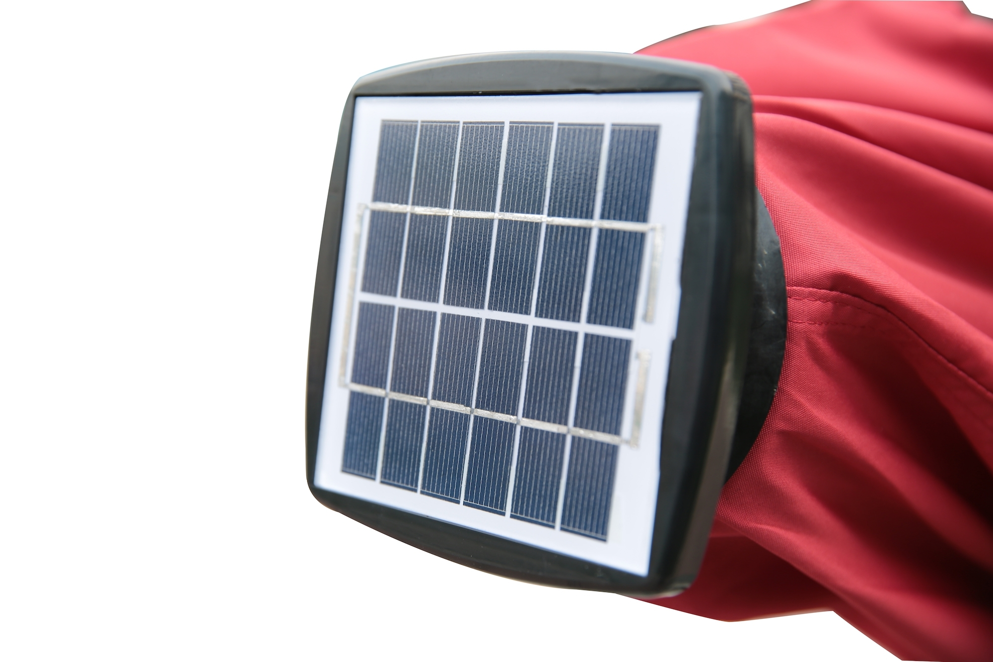 Widely Used Solar Powered Umbrella (View 3 of 20)