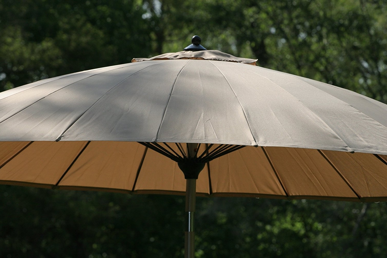 Wind Resistant Patio Umbrellas Intended For Current Wind Resistant Patio Umbrella F68X In Wow Small Home Decoration (View 18 of 20)