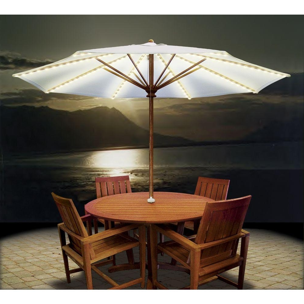 Wonderful Patio Umbrella Lights Umbrella Lights Solar And Patio On In Newest Outdoor Umbrella Lanterns (View 20 of 20)